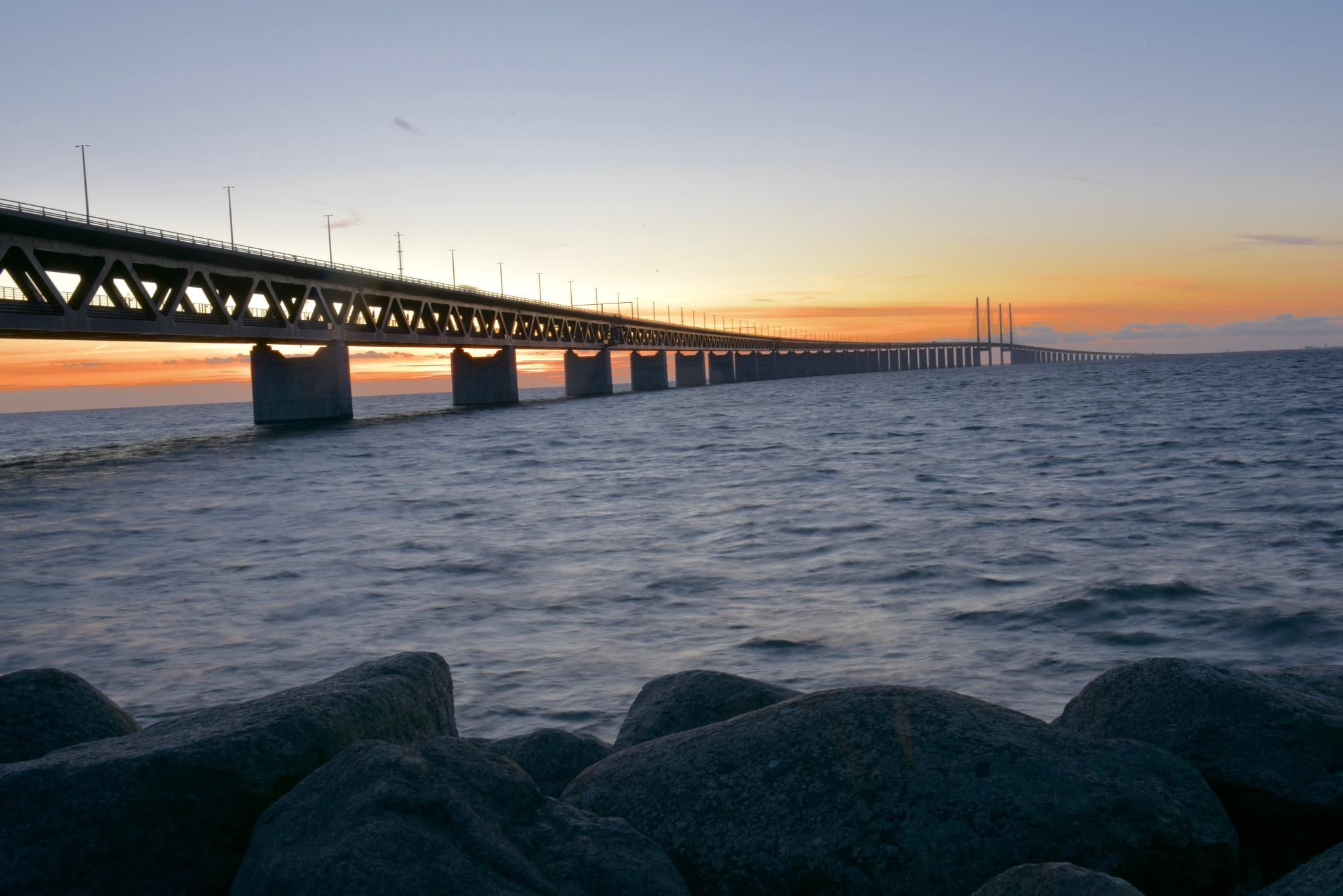Oresund bridge 6! by Memed Bayatli