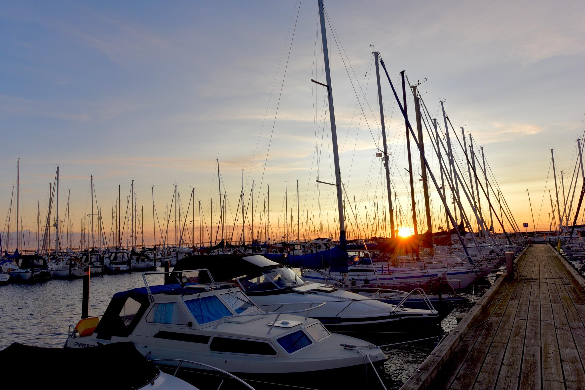Sunset Limhamn Malmö! by Memed Bayatli