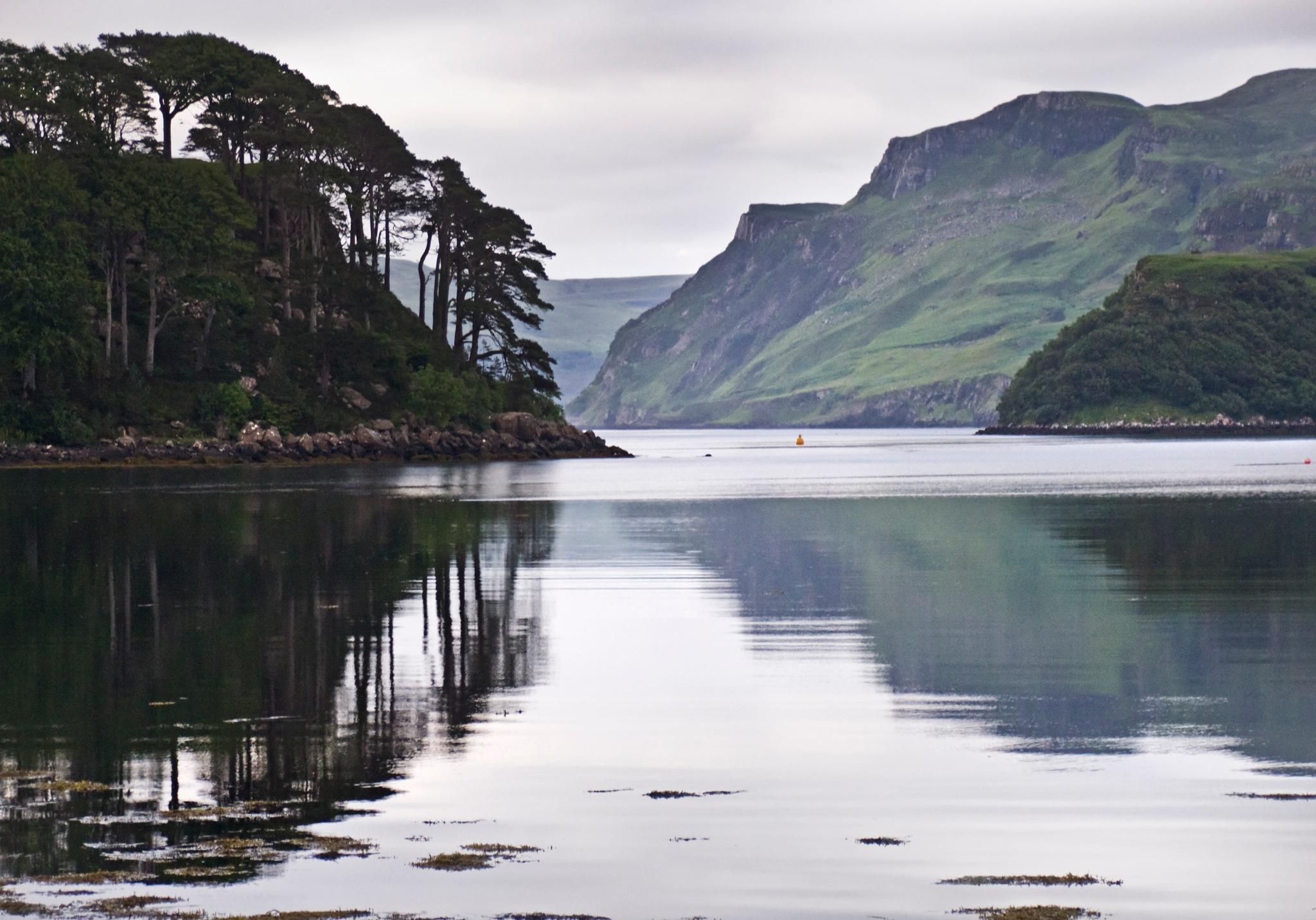 Portree Harbor, Isle of Skye by Dan Cohen