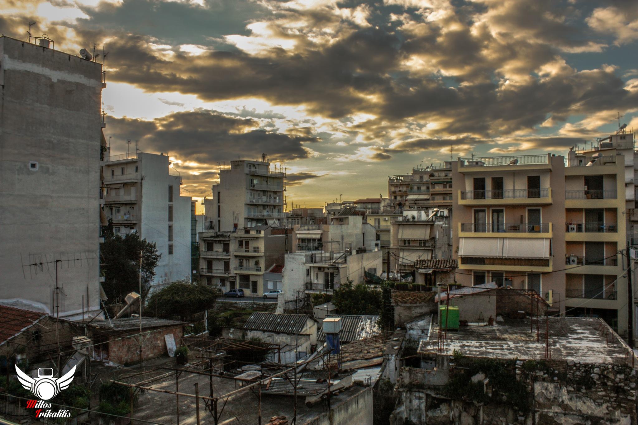 Urban Landscape by Miltos Trikalitis