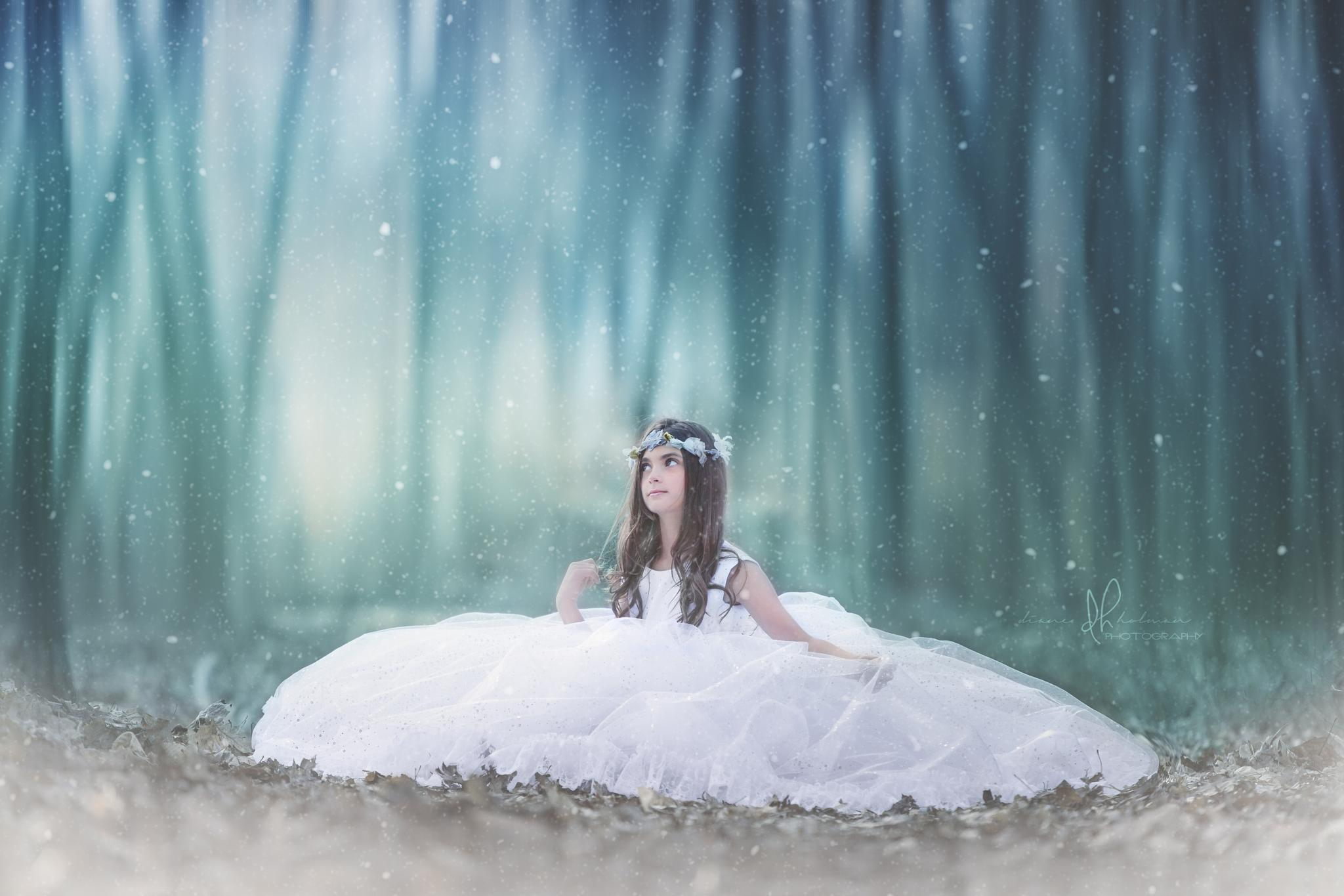 Snow Angel by dianeholmanphotography