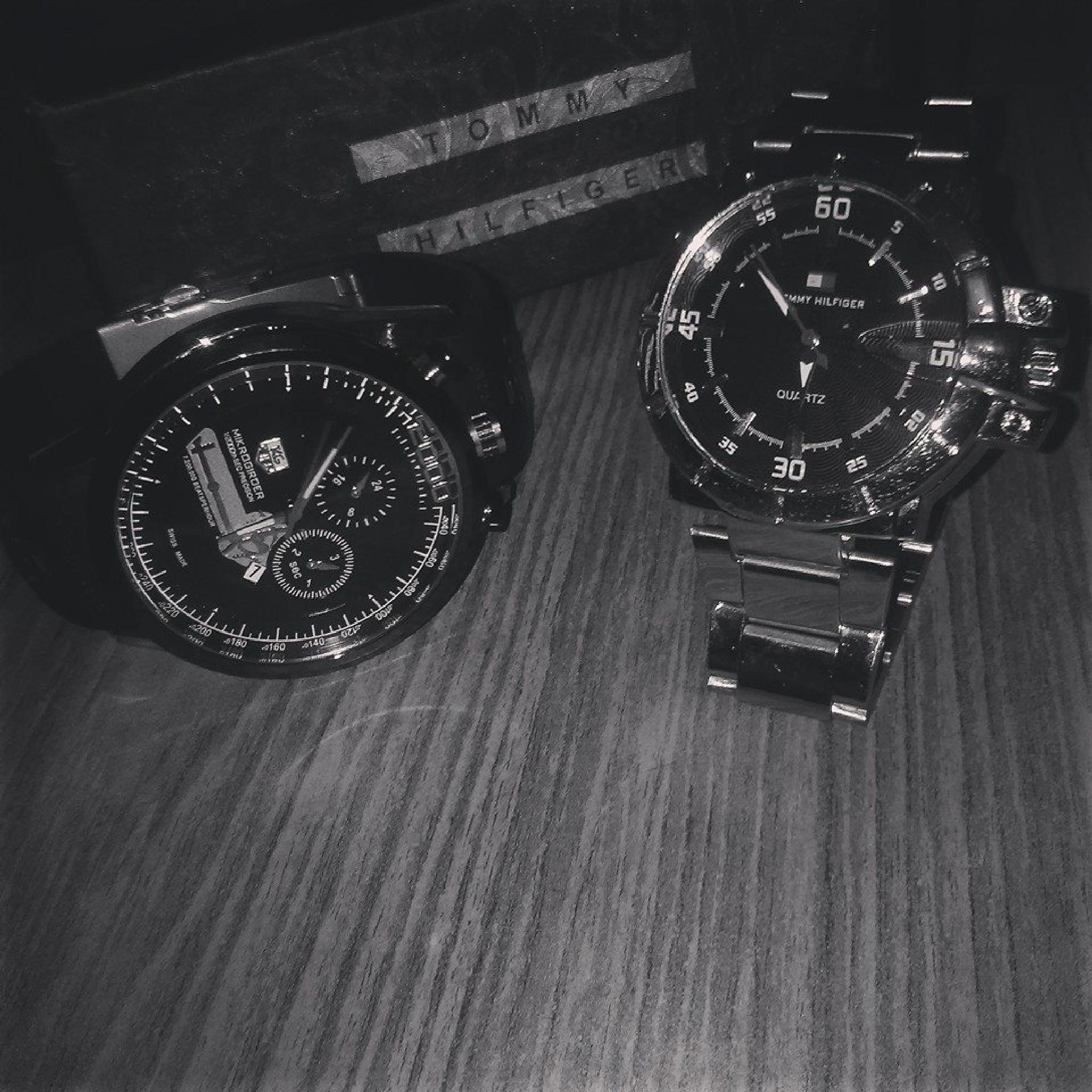 AKASH PHOTOGRAPHY WORLD..../. WATCHES TOMMY AND TAGHEUR.. by akashkapoor