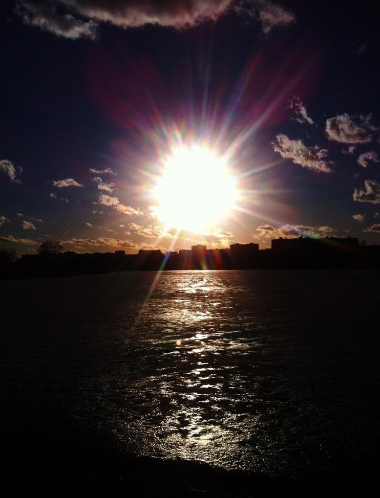 Let the sun guide you by Juliana Chumak