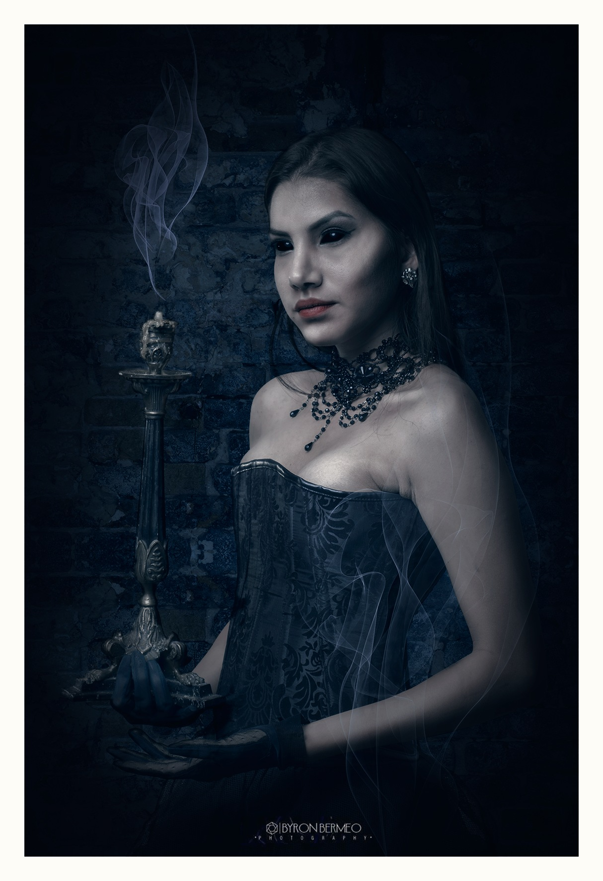 Dark Beauty by B Y R O N   B E R M E O  (MORT)