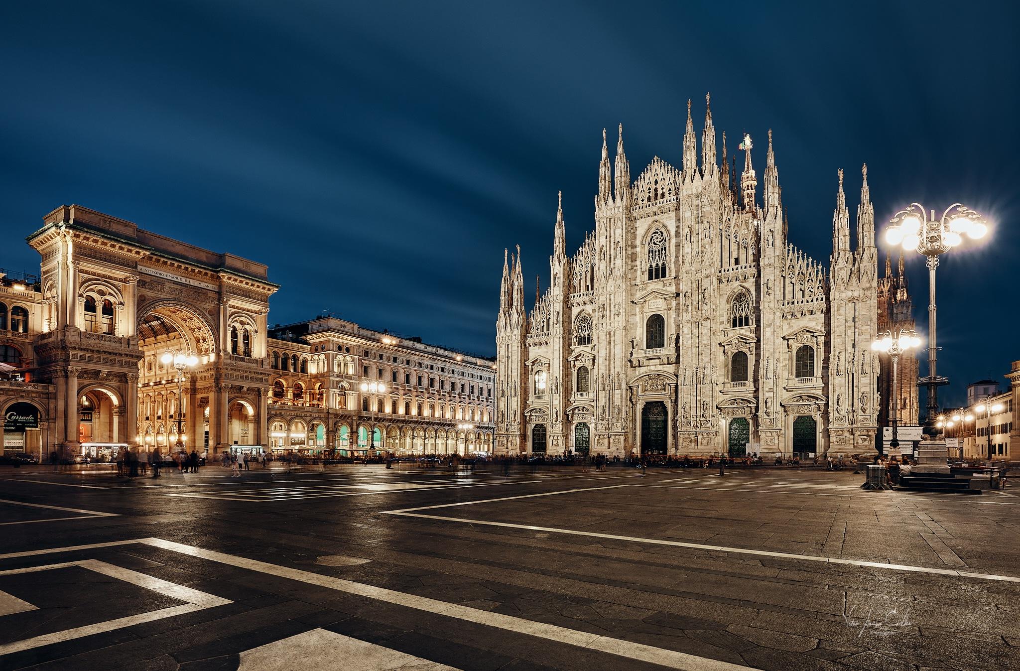 Italy@Milan - Il Duomo by Vitor Coelho