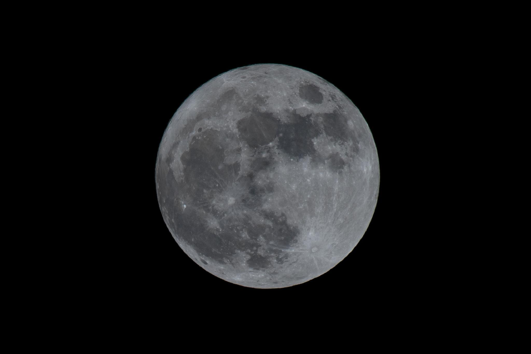 Full Moon by DarrenWood