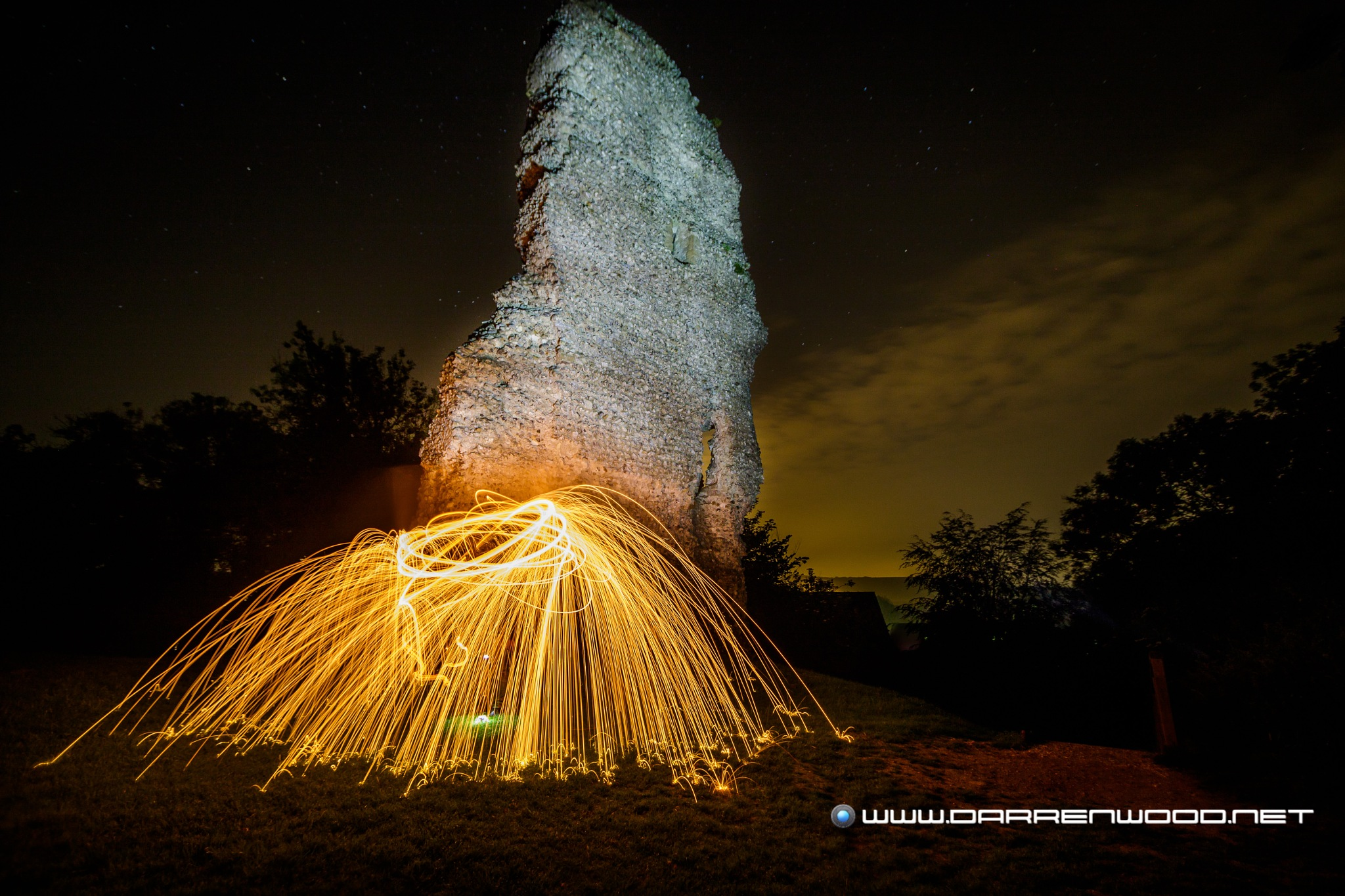 Sparks at the Castle by DarrenWood