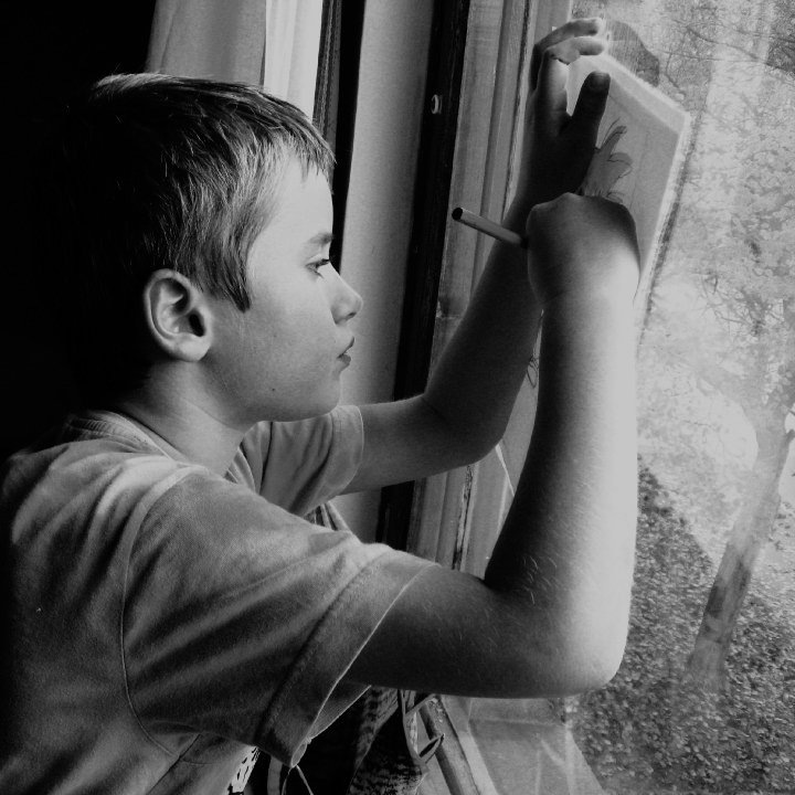 """""""Every child is an artist, the problem is staying an artist when you grow up."""" by Magda Hörndahl"""