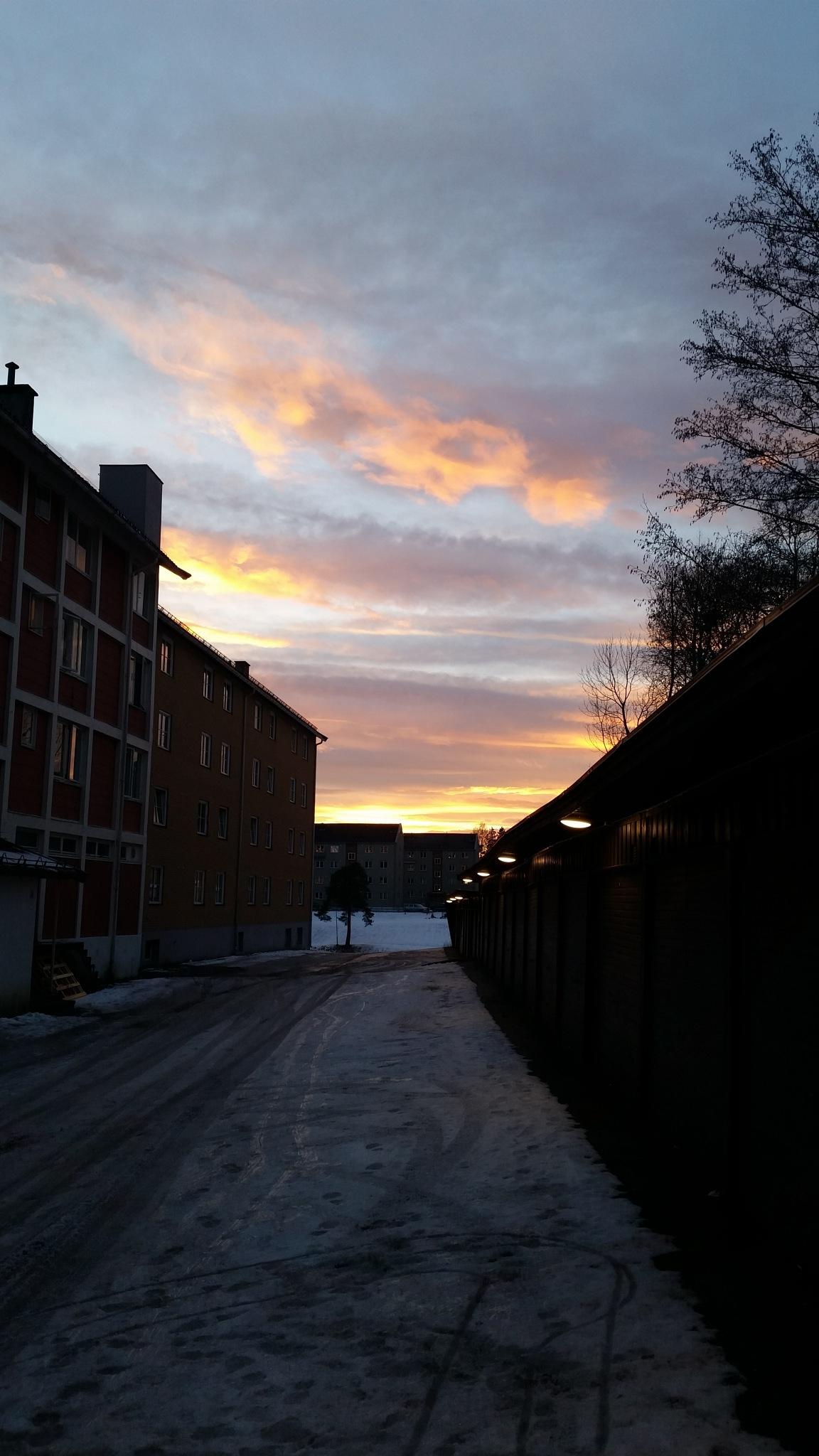Sunset Unfolds by Markus. Rønning. Nilsen