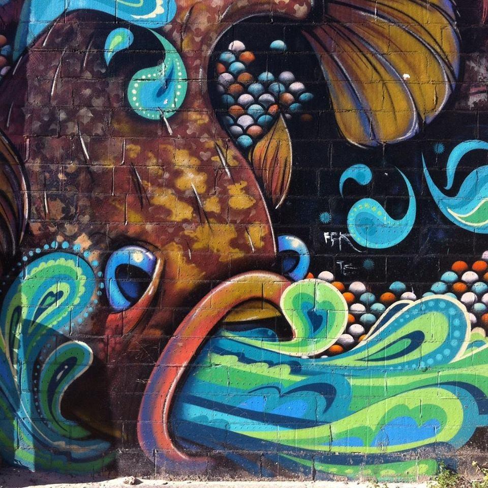 Cool street art in Perth by www.friaryflowers.com.au