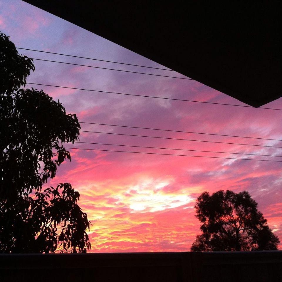 Sunset Clouds by www.friaryflowers.com.au