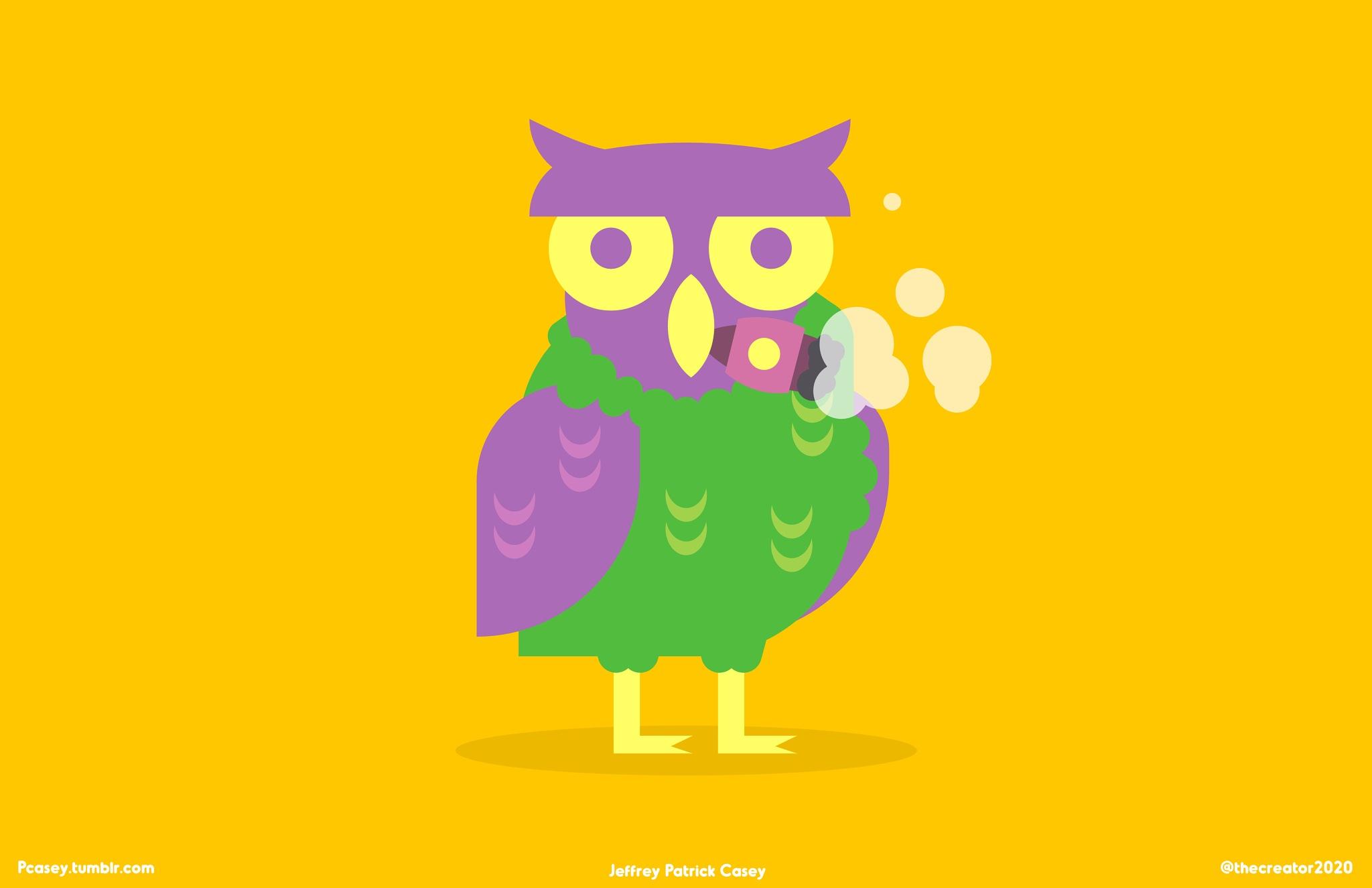 Owl by Patrick Casey