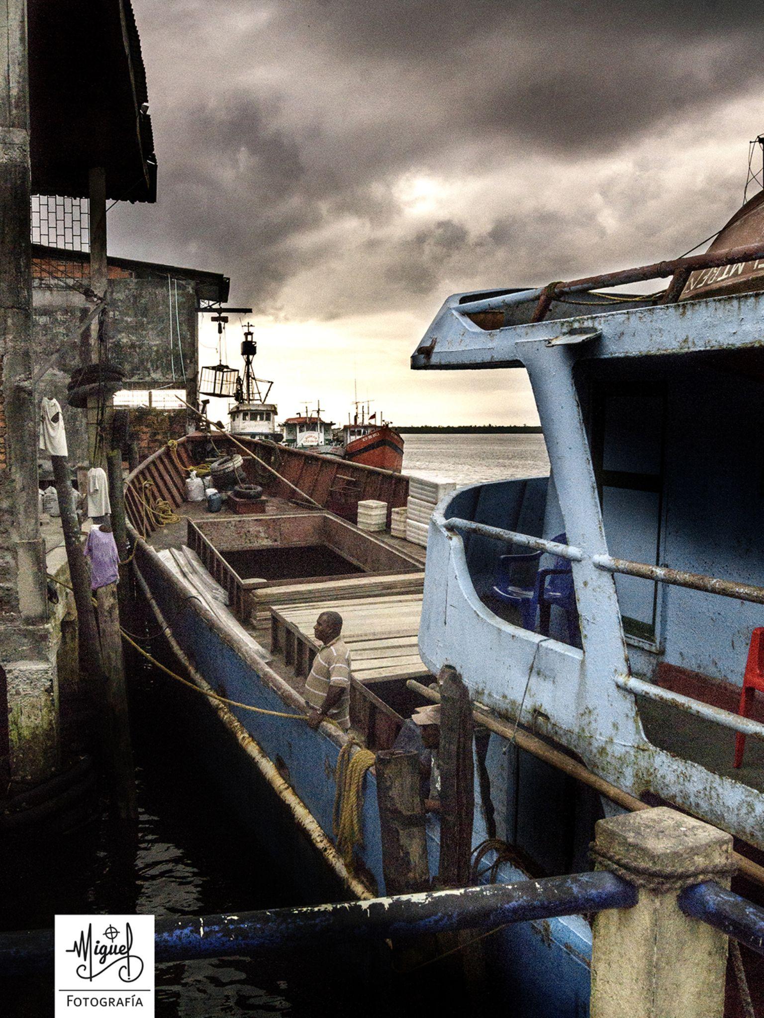 puerto, Tumaco - Nariño by Miguel Lopez