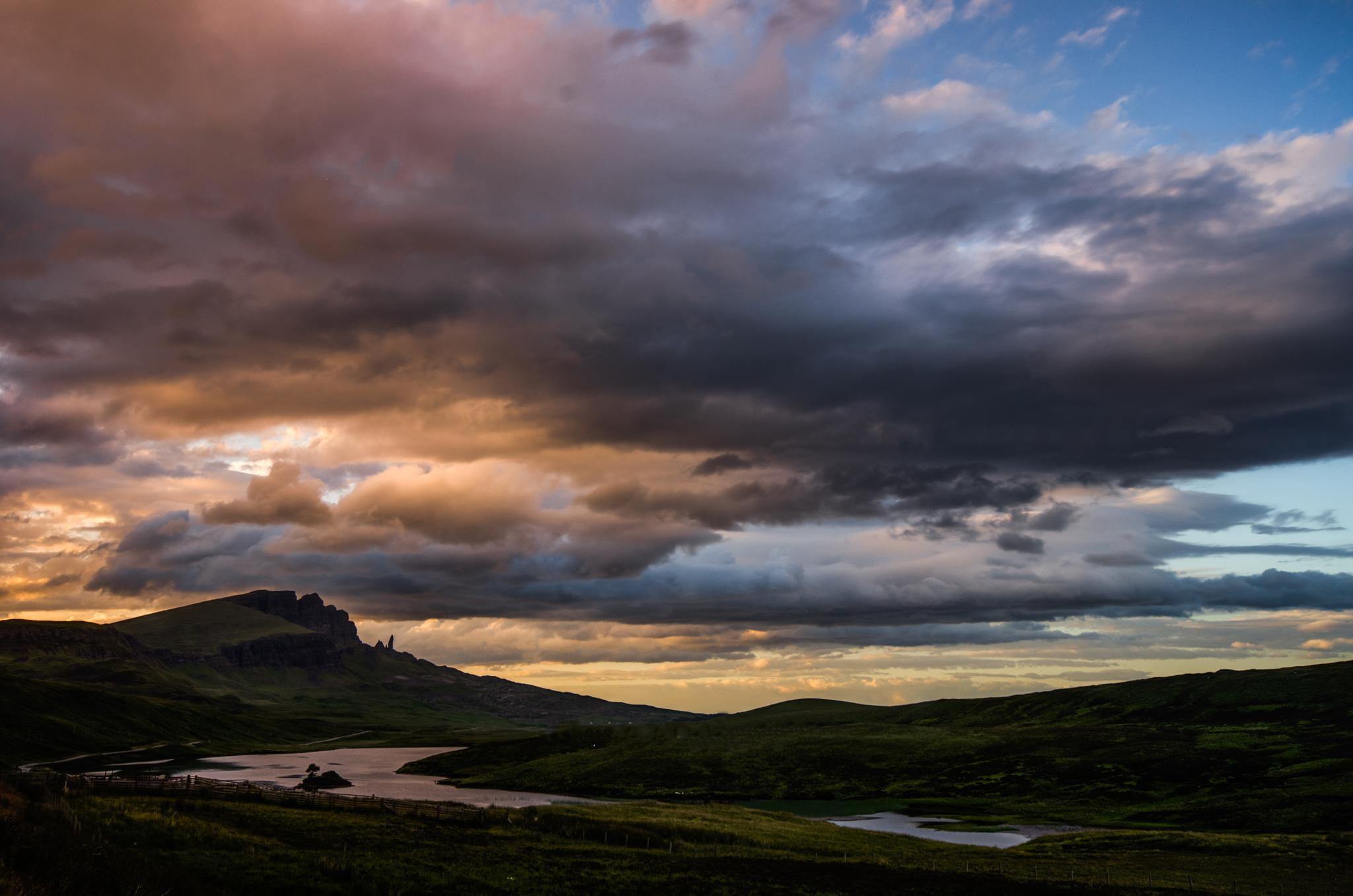 Trotternish Ridge by Liesl van Niekerk