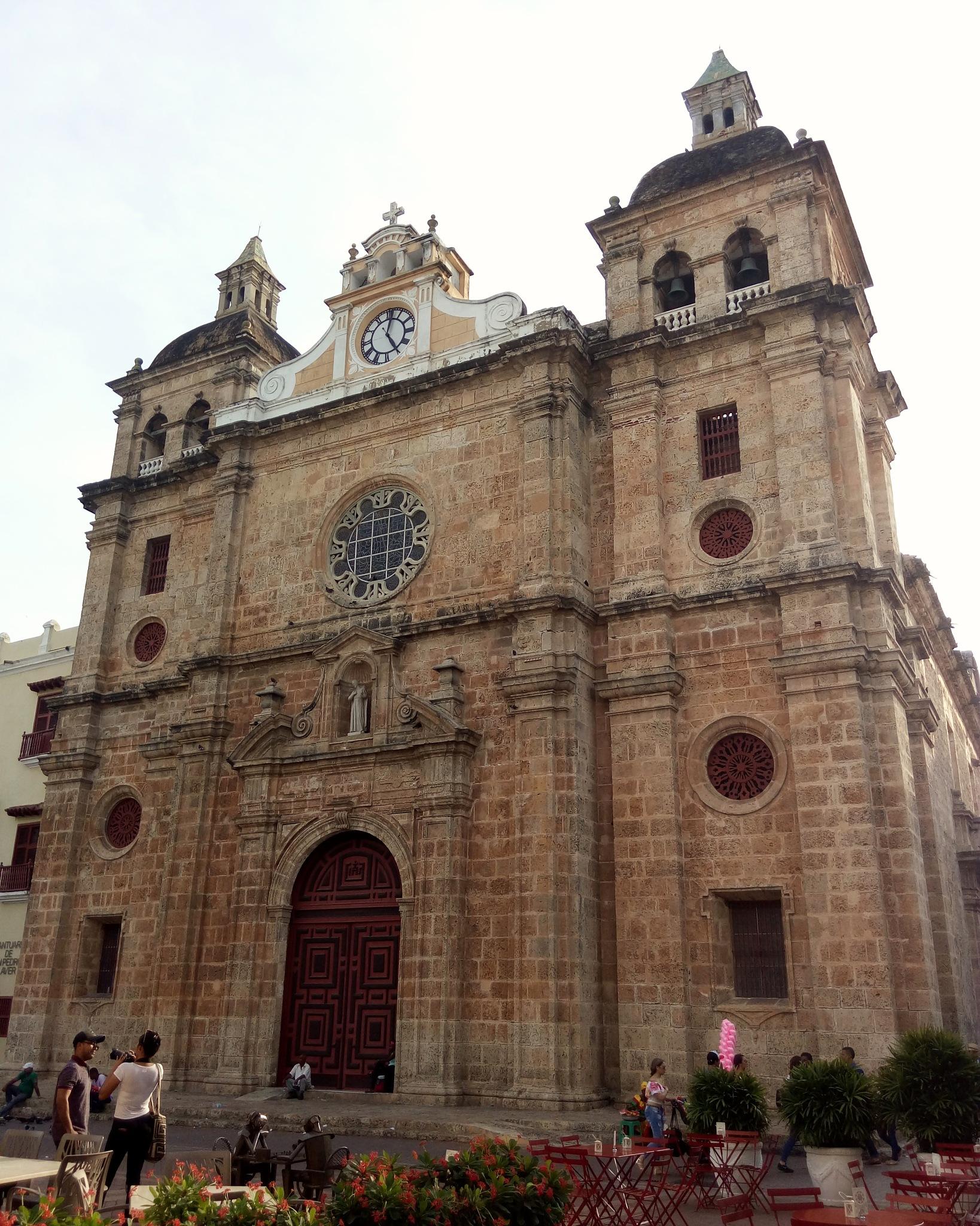 Iglesia de San Pedro Claver by Fernando Yanguas Morera