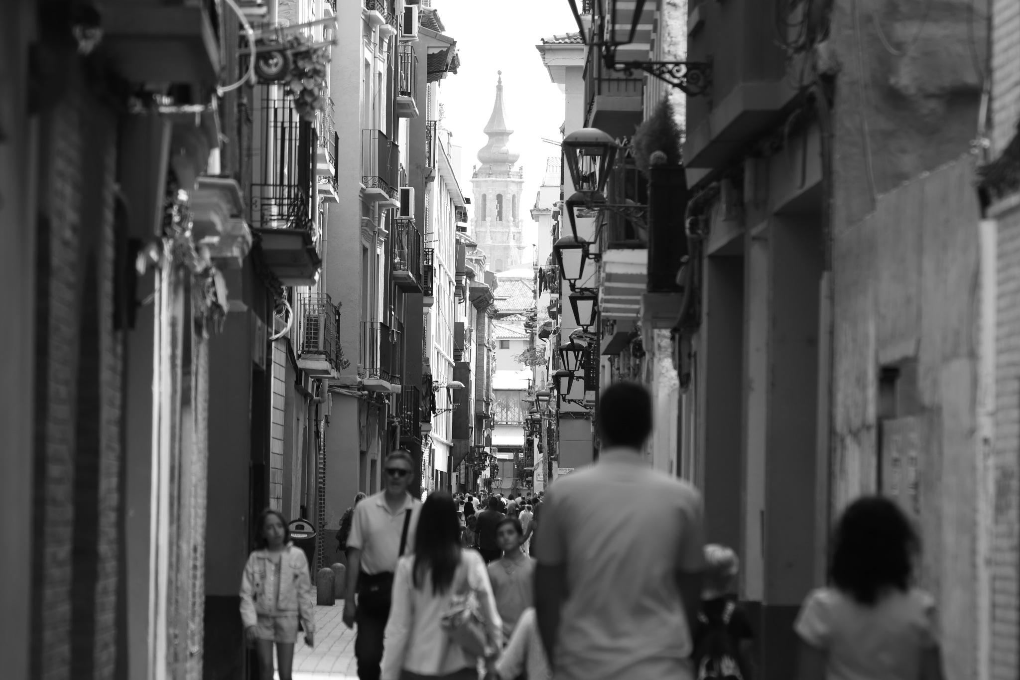 Calle Las Armas (Zaragoza) by Fernando Yanguas Morera