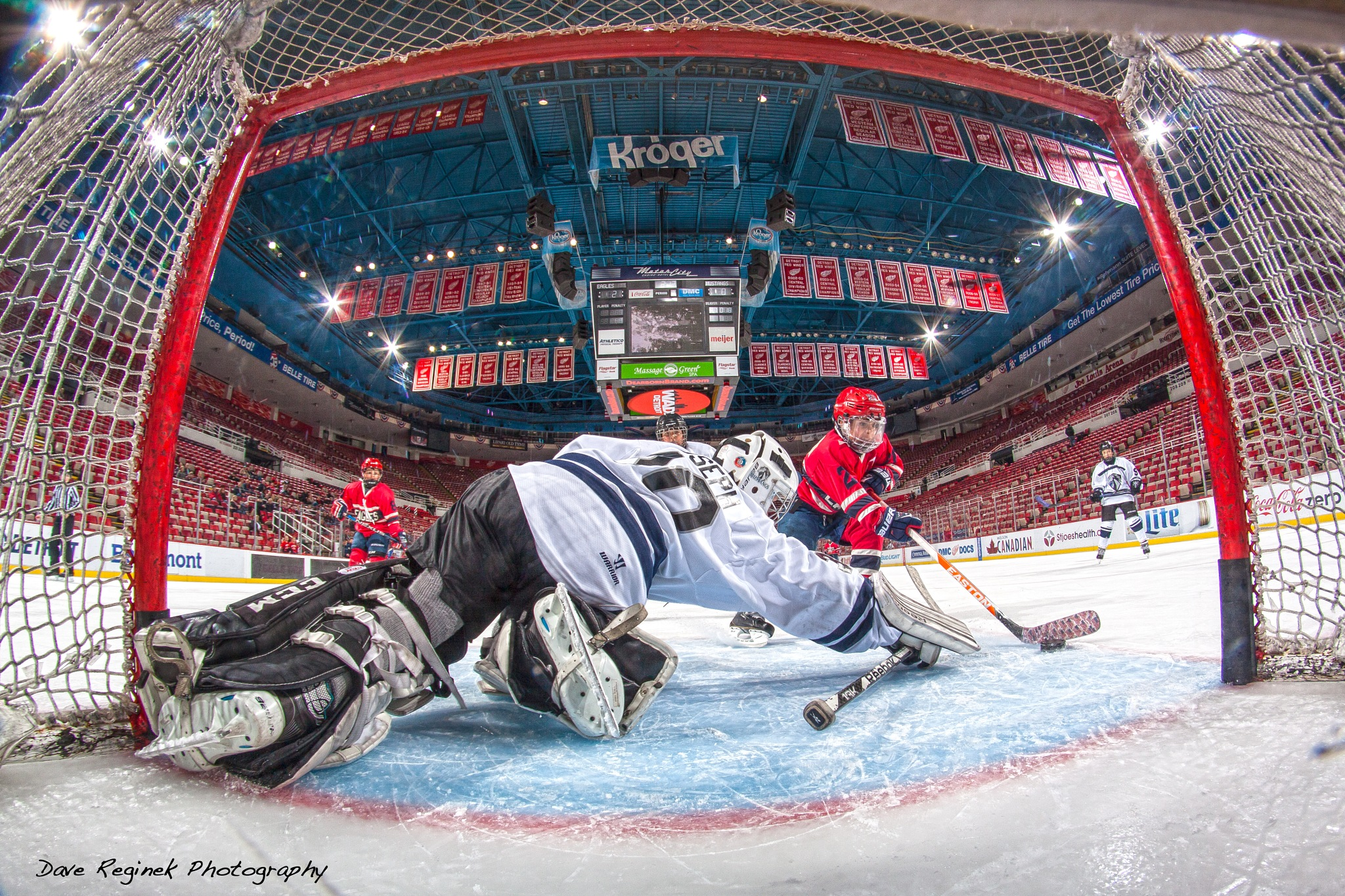 Scoring at the Joe by dreginek