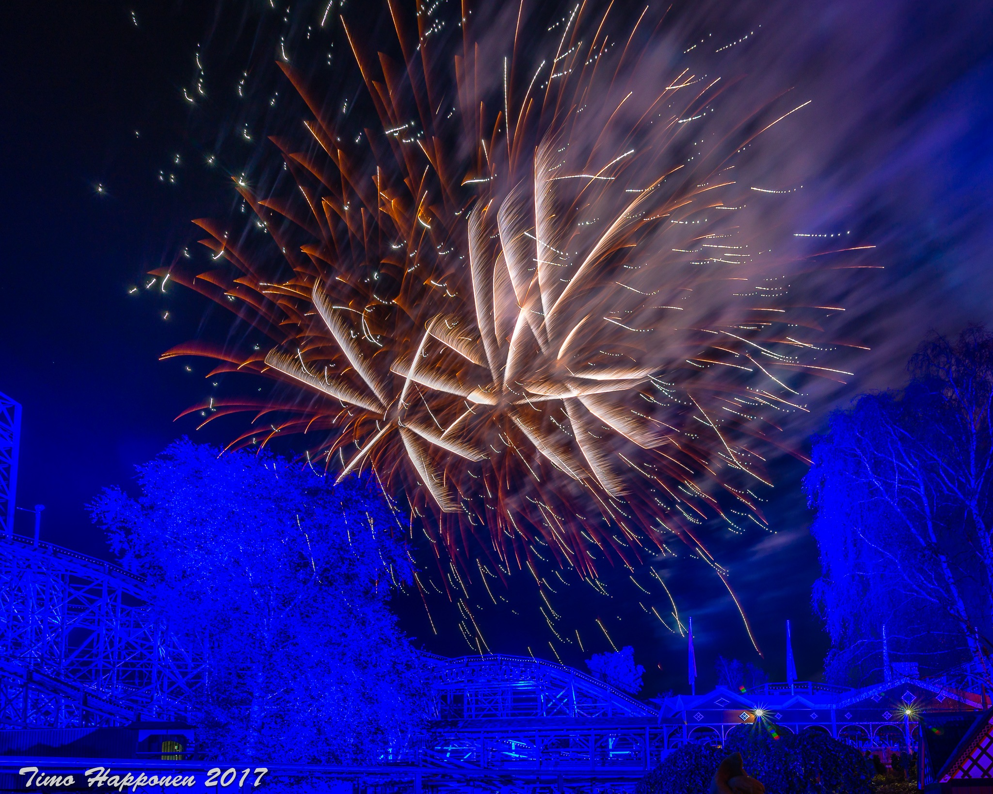 Fireworks by Timo Happonen