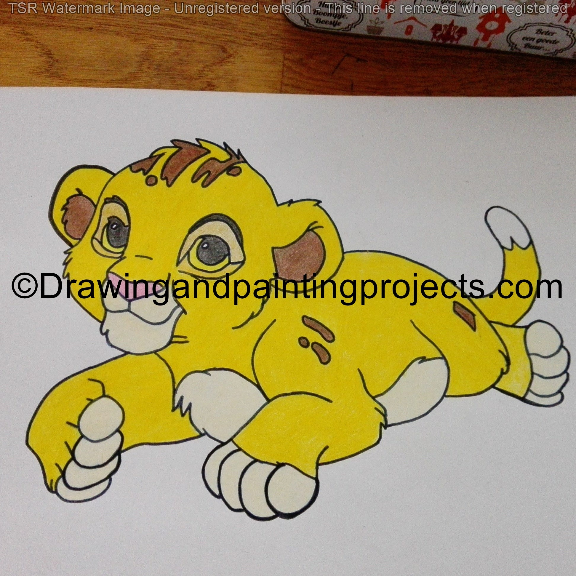 simba by Drawing86