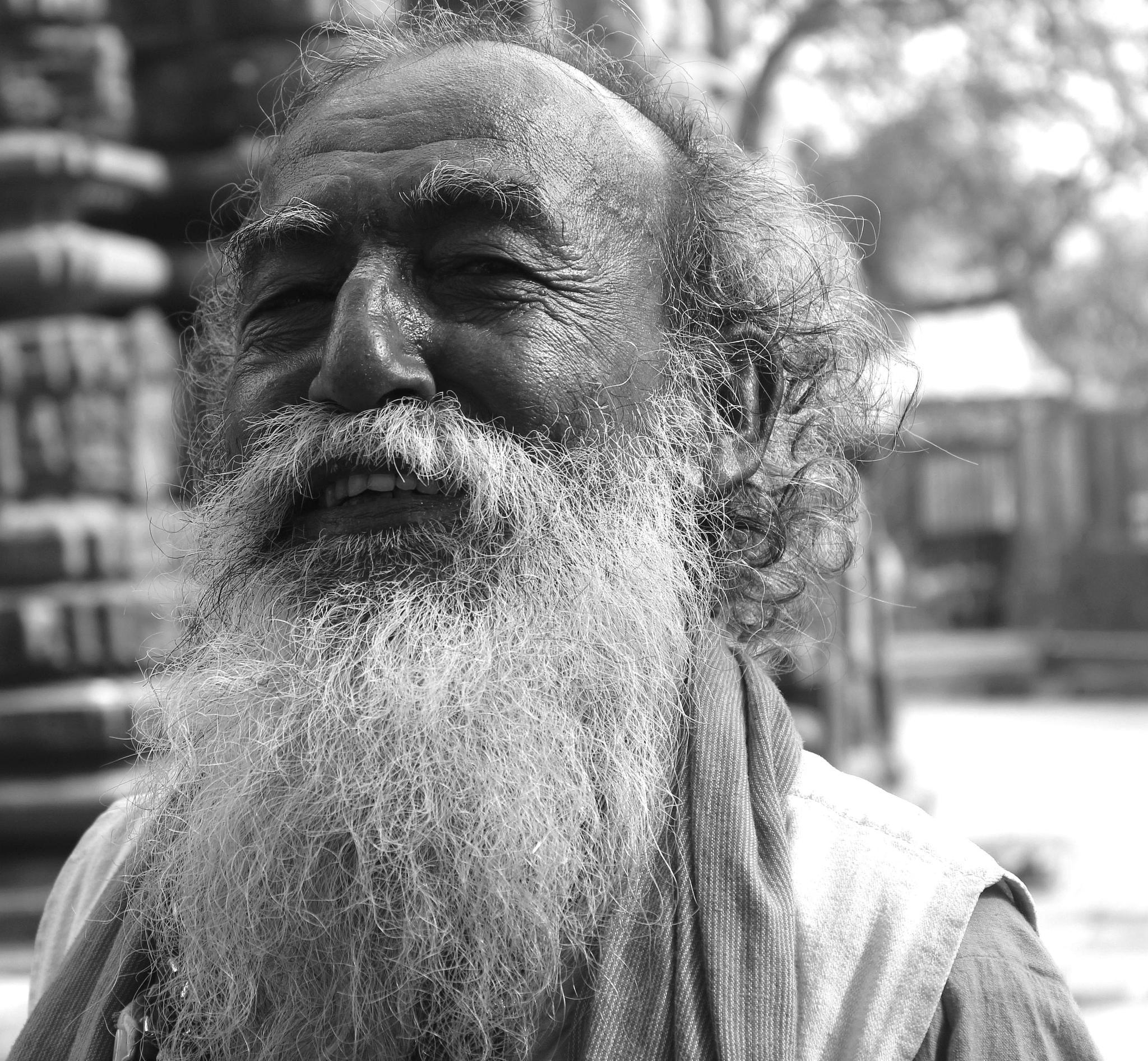 Old Man by Vivek Tavate