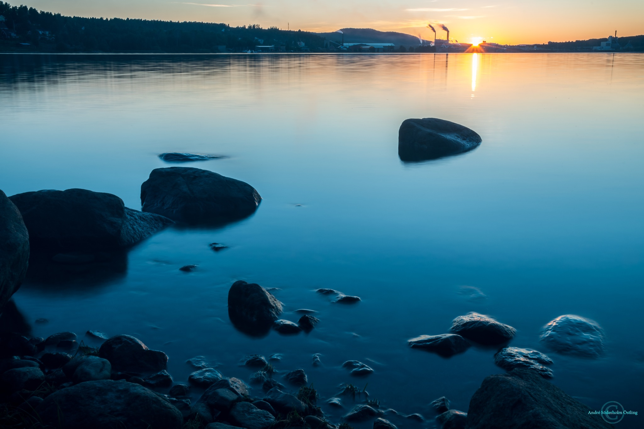 Beautiful sunset at Alne! by André Söderholm Östling