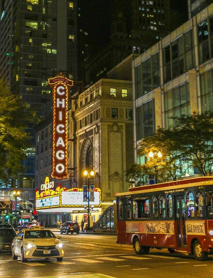 Chicago Theater by Tessa Russell
