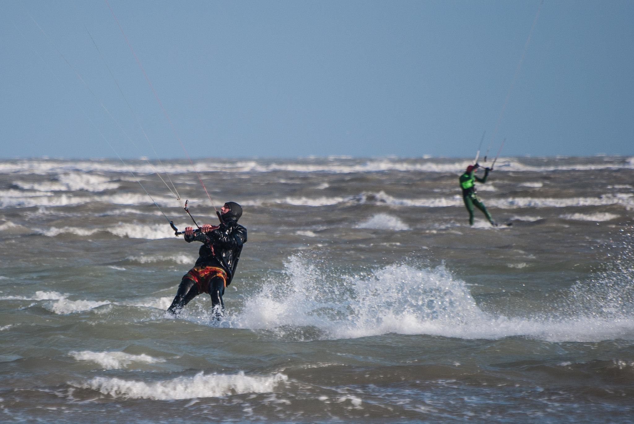 kitesurfing by La Sandra