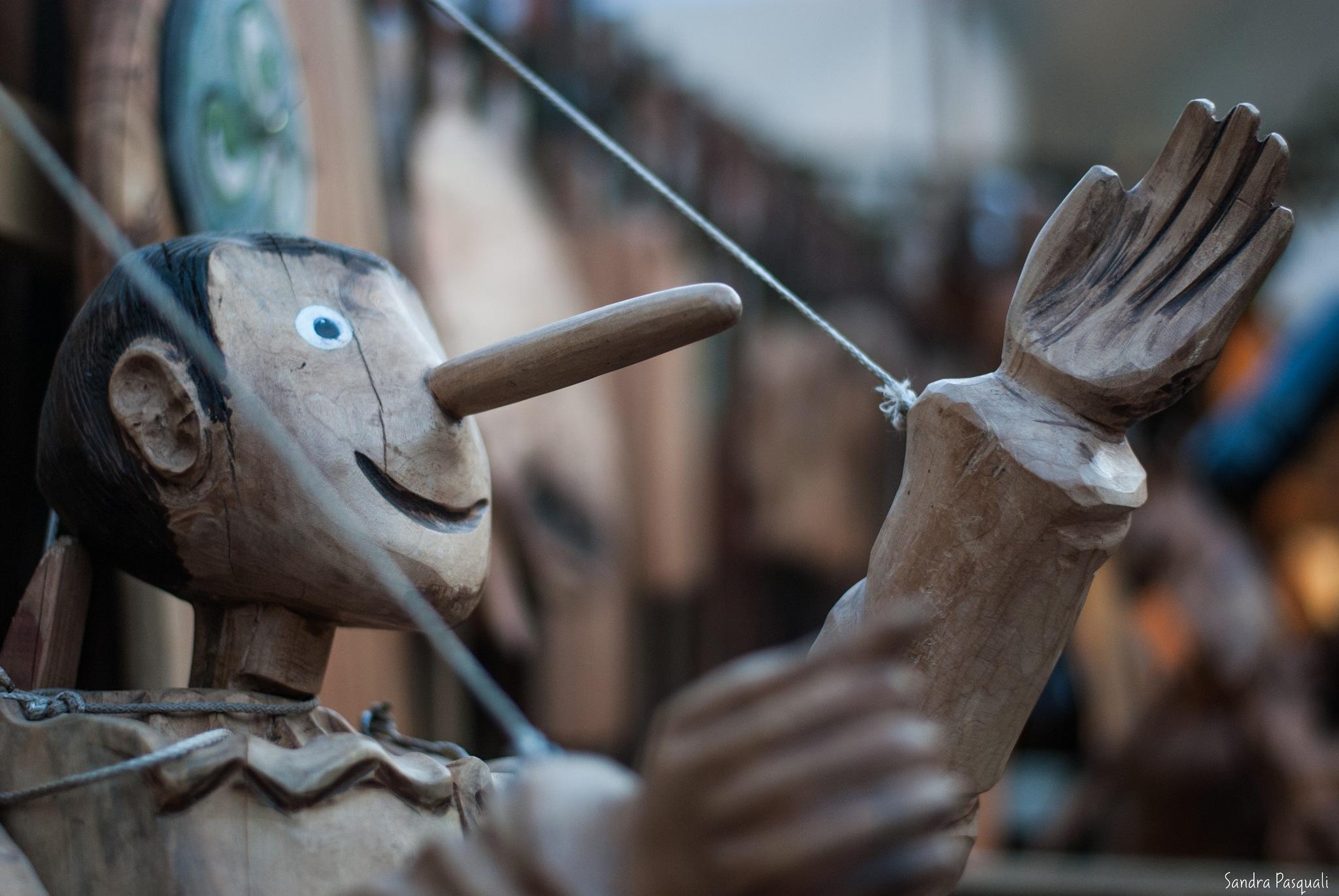 Pinocchio by La Sandra
