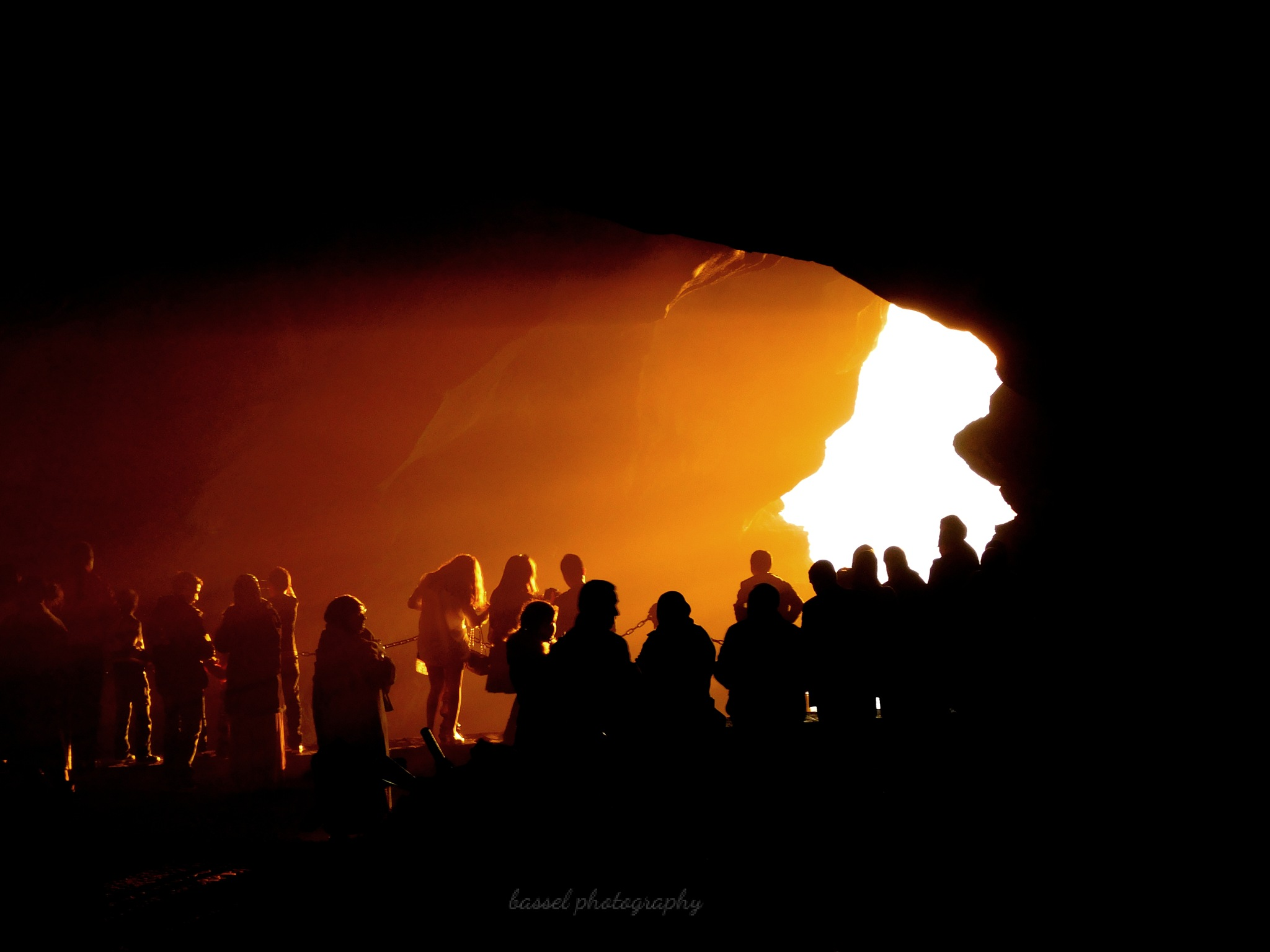Photo in Travel #sunset #morocco #tangier #people #cave #travel #darkness #hercule