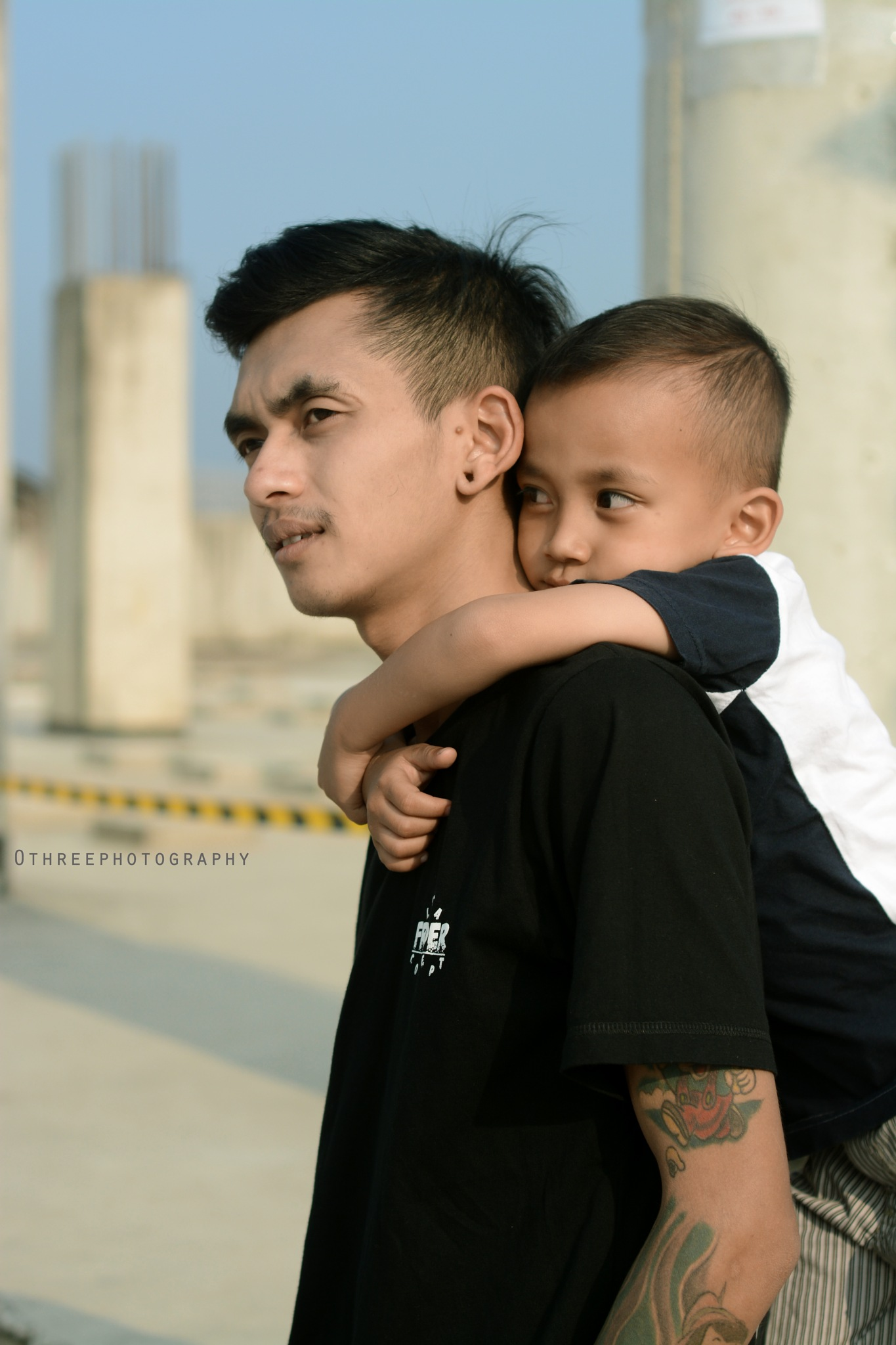 Like father like son... by Putri Solehah Sumarno