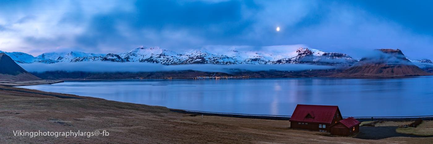 Across the moon lit bay  by Mark Lynch