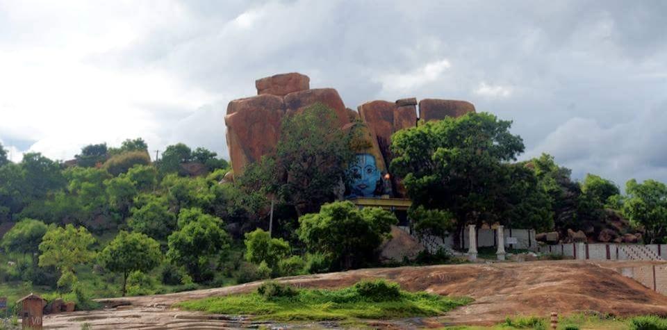 God on the Hill by Nithin Kumar