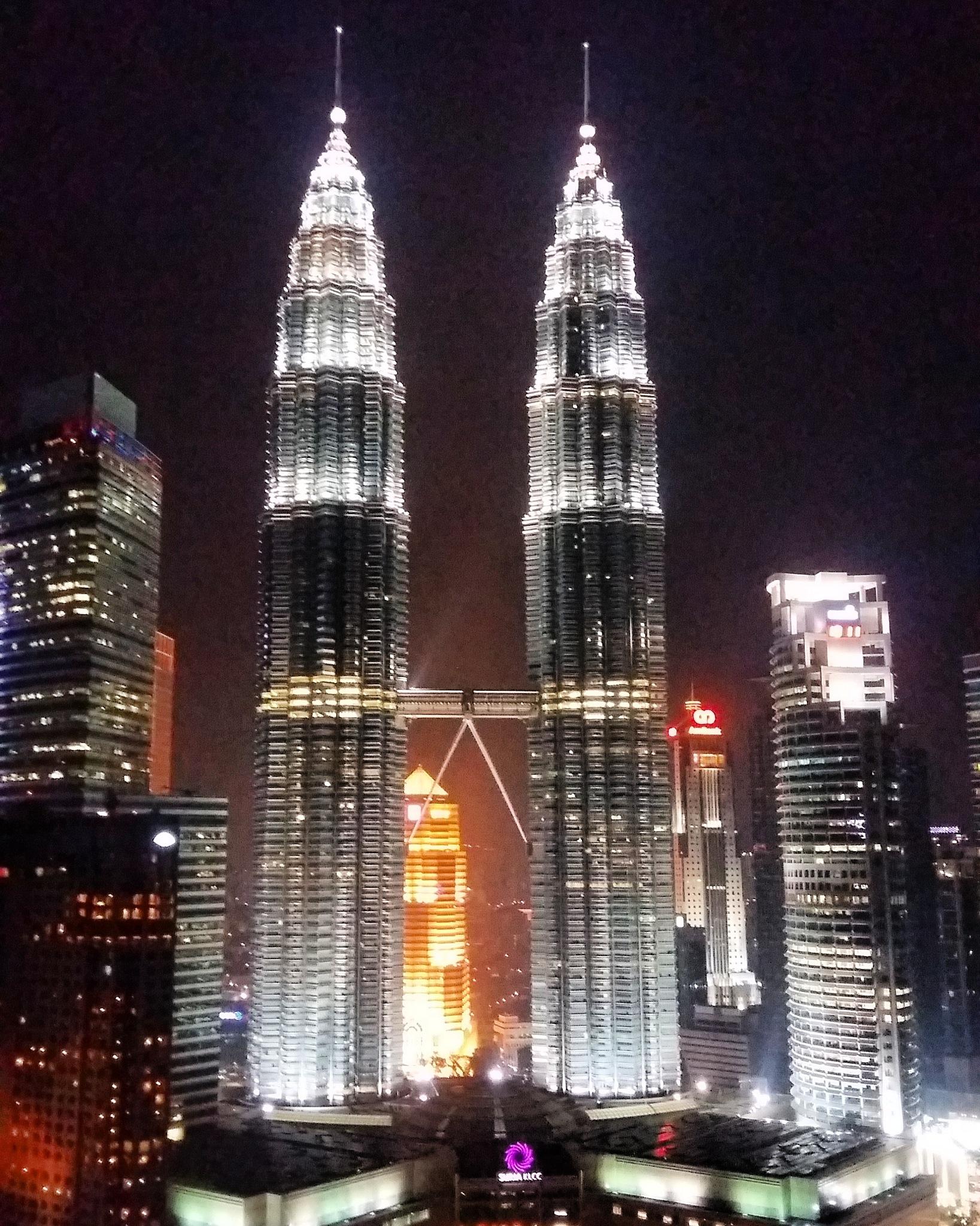 twin tower by Vita Dewi Aprilia