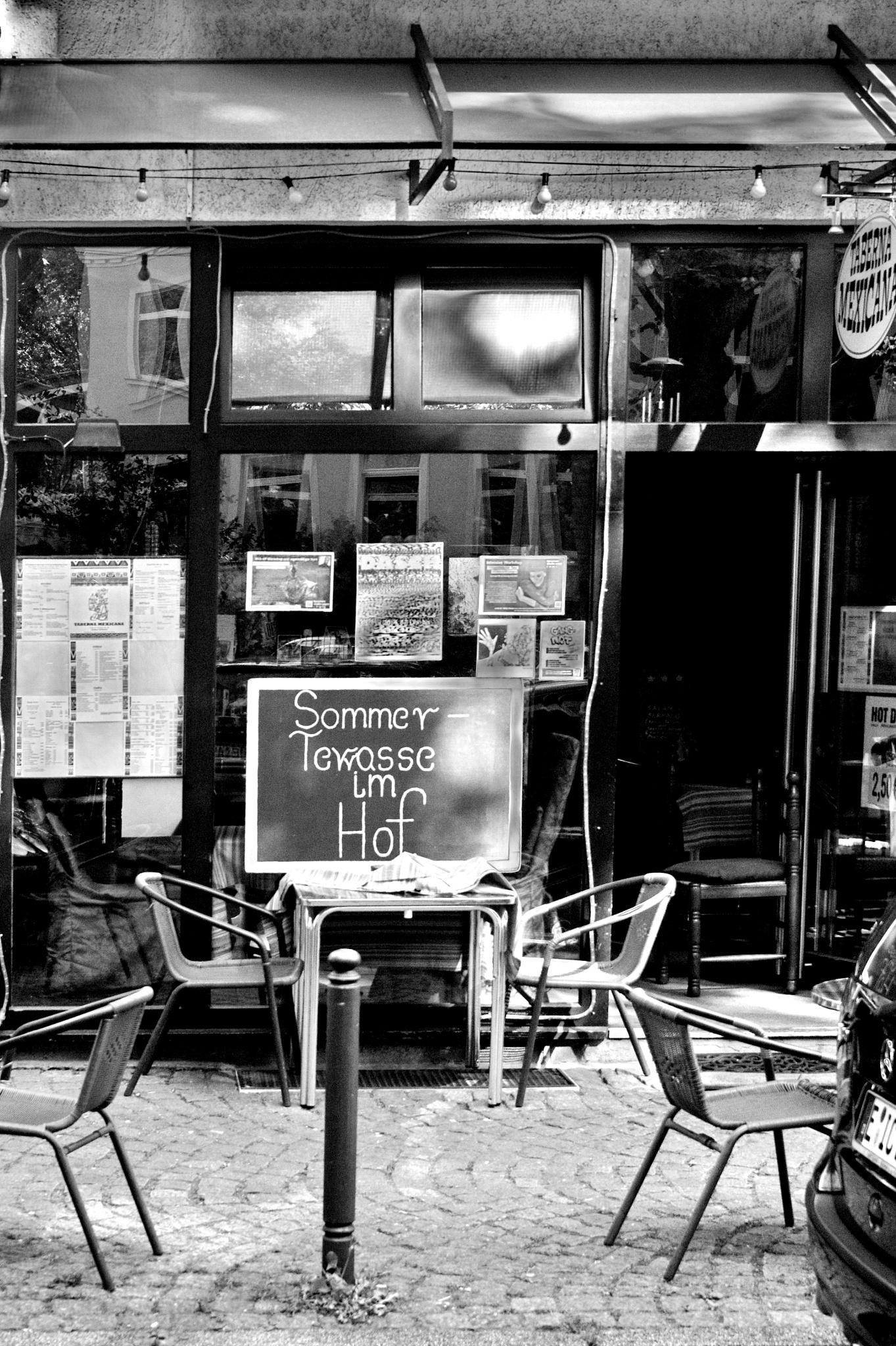 ... a cafe in Essen, North Rhine Westphalia by Underground Photography