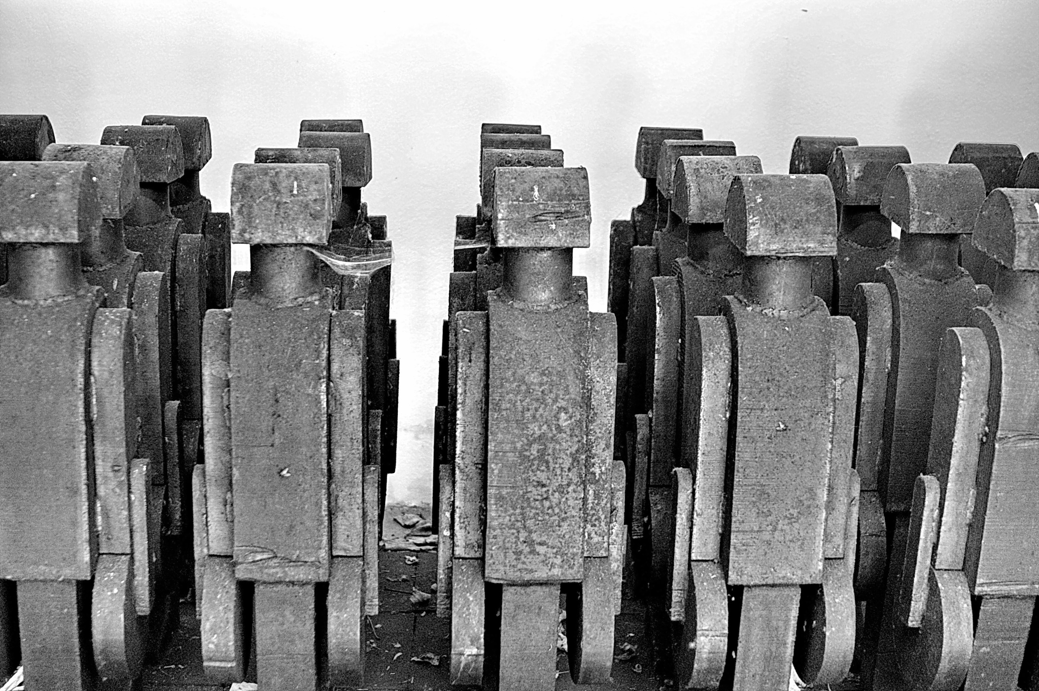 Photo in Black and White #sw #bw #steel formation character s #stahl formation figur reihe