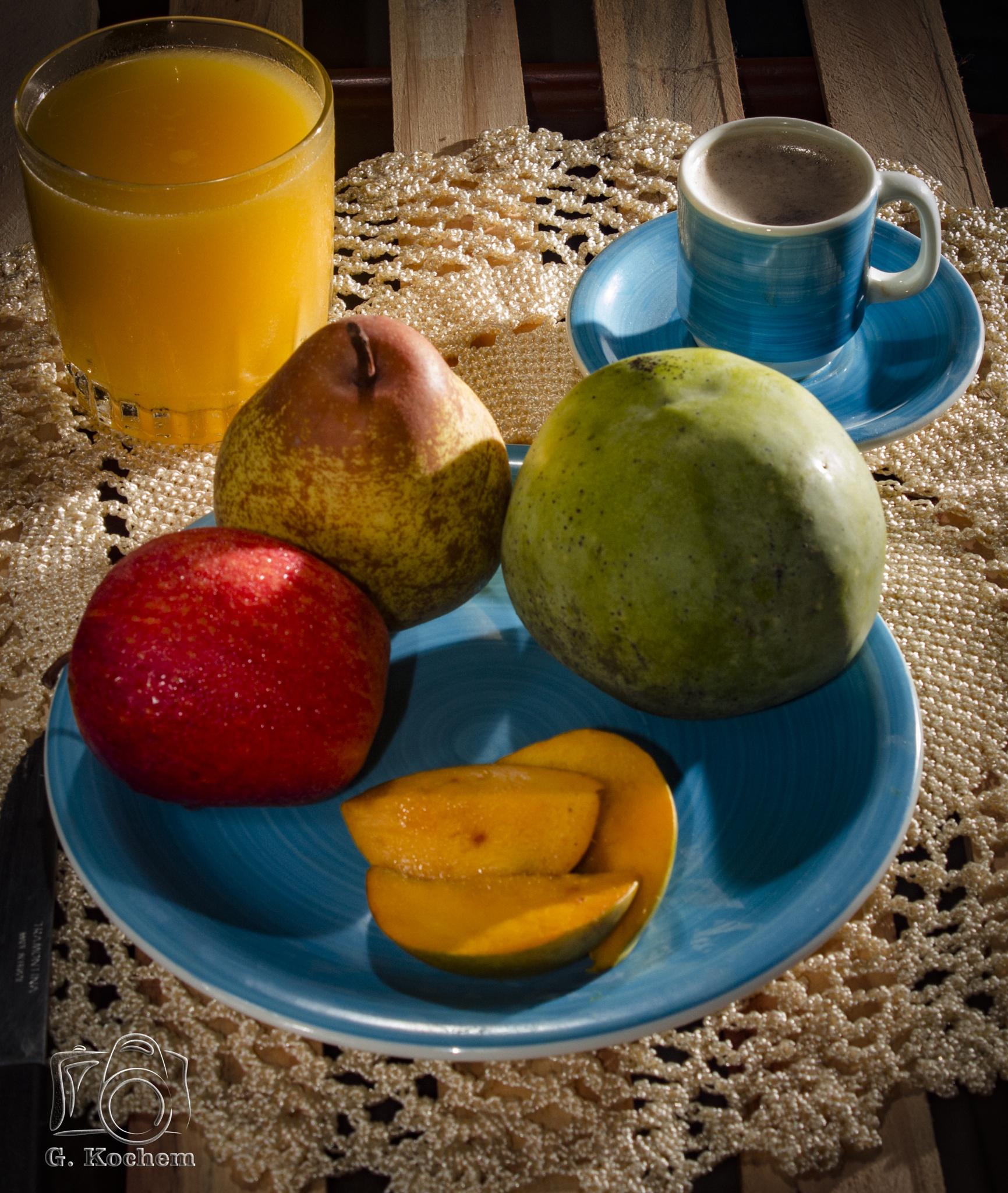 Café da manhã saudave!!! by gkochem