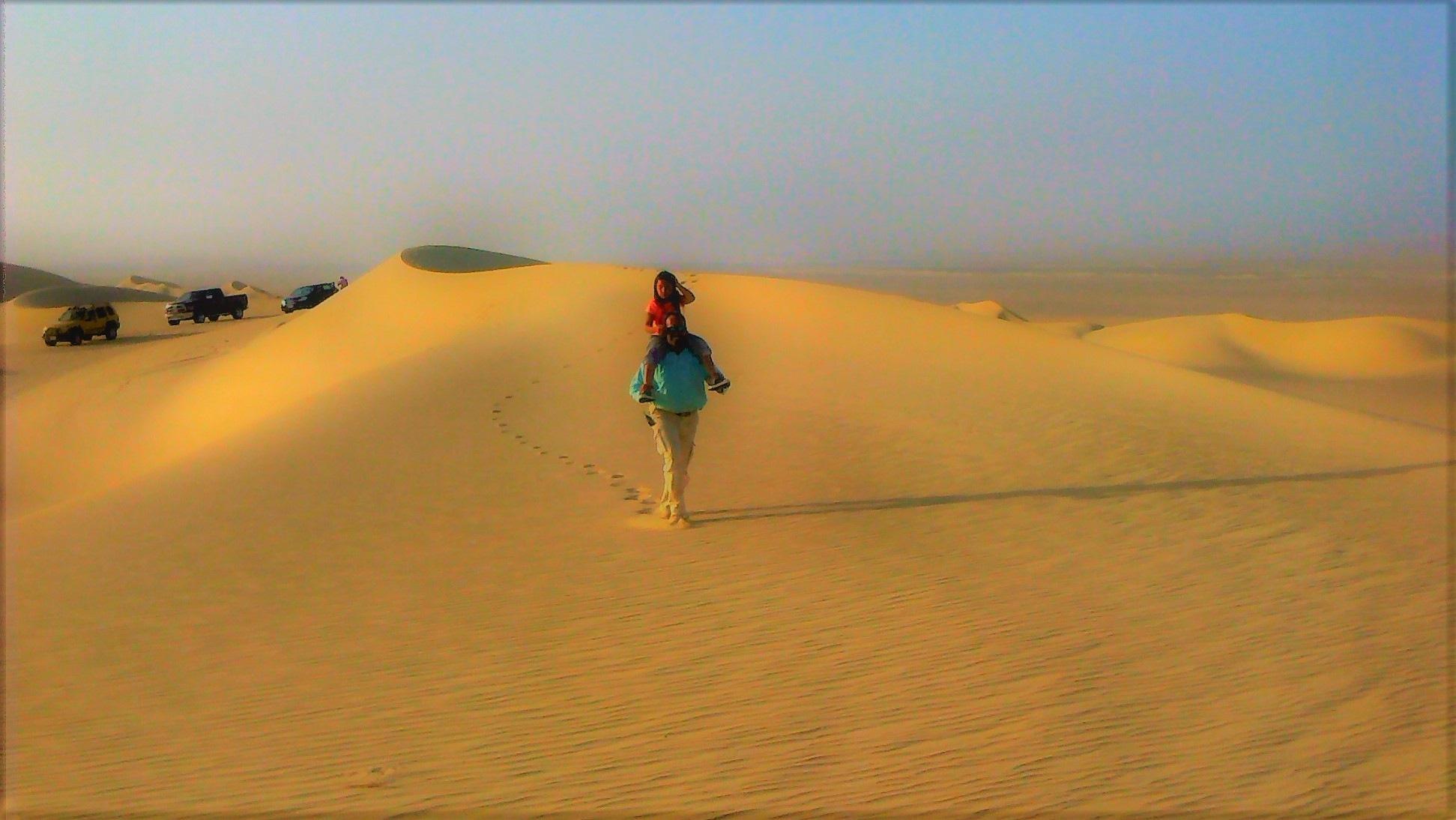 desert father by Tarek Mazloum