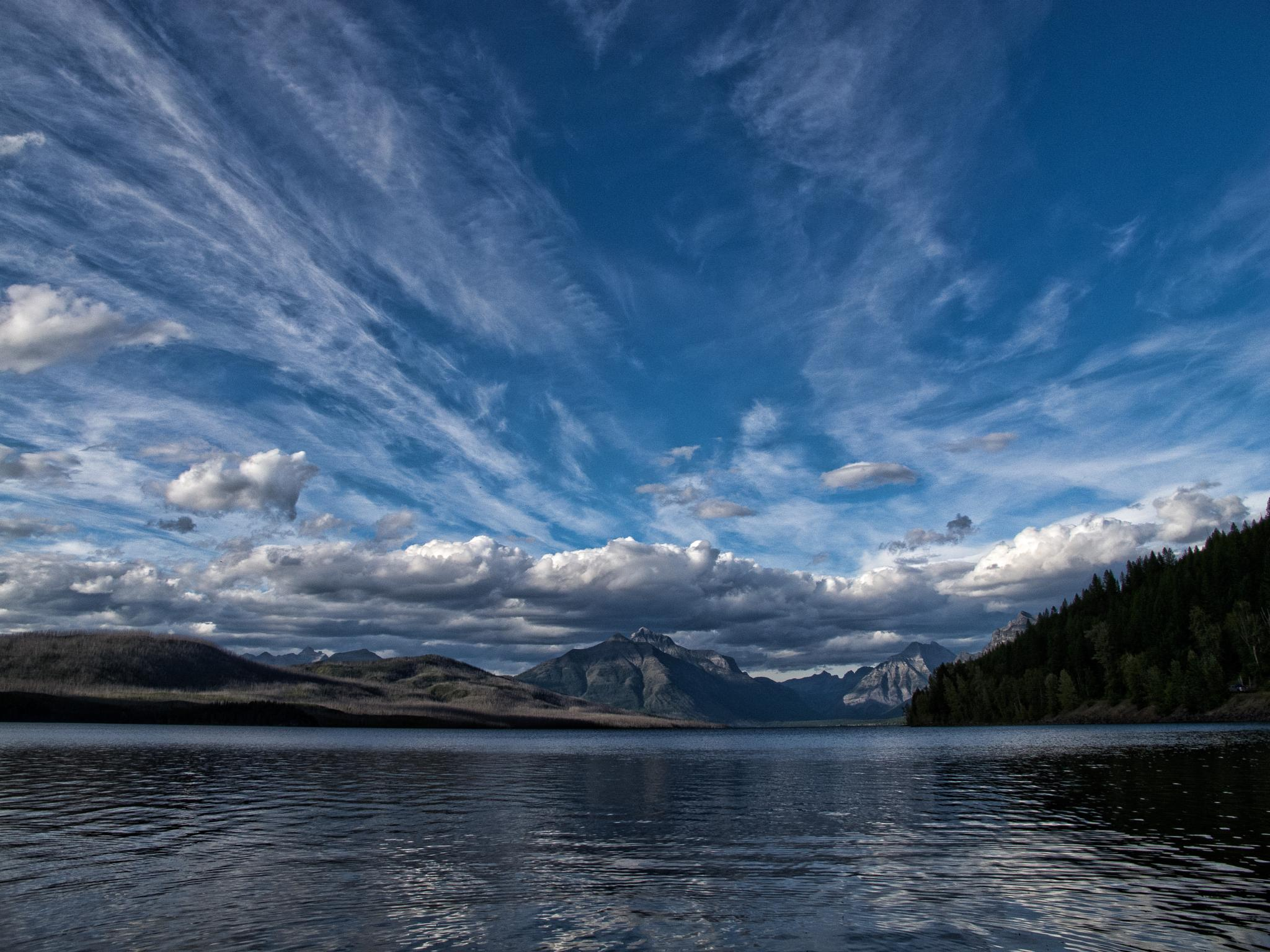 Lake McDonald, Glacier National Park, Montana by graibeerd