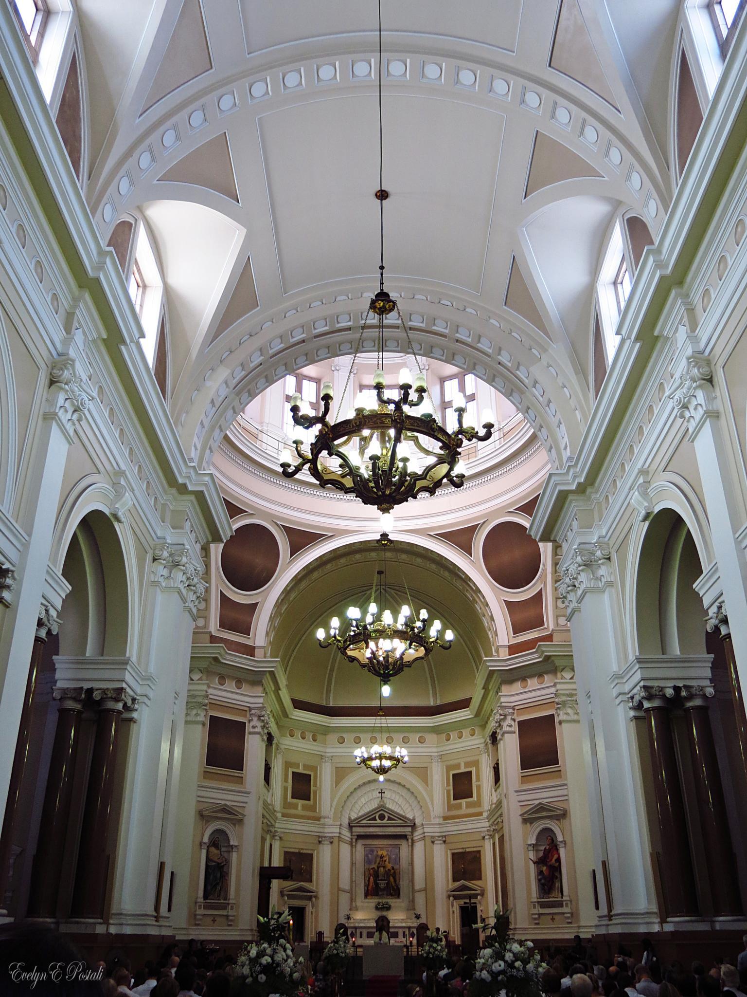 Photo in Architecture #catedral #interior #arquitetura #architecture #porto alegre