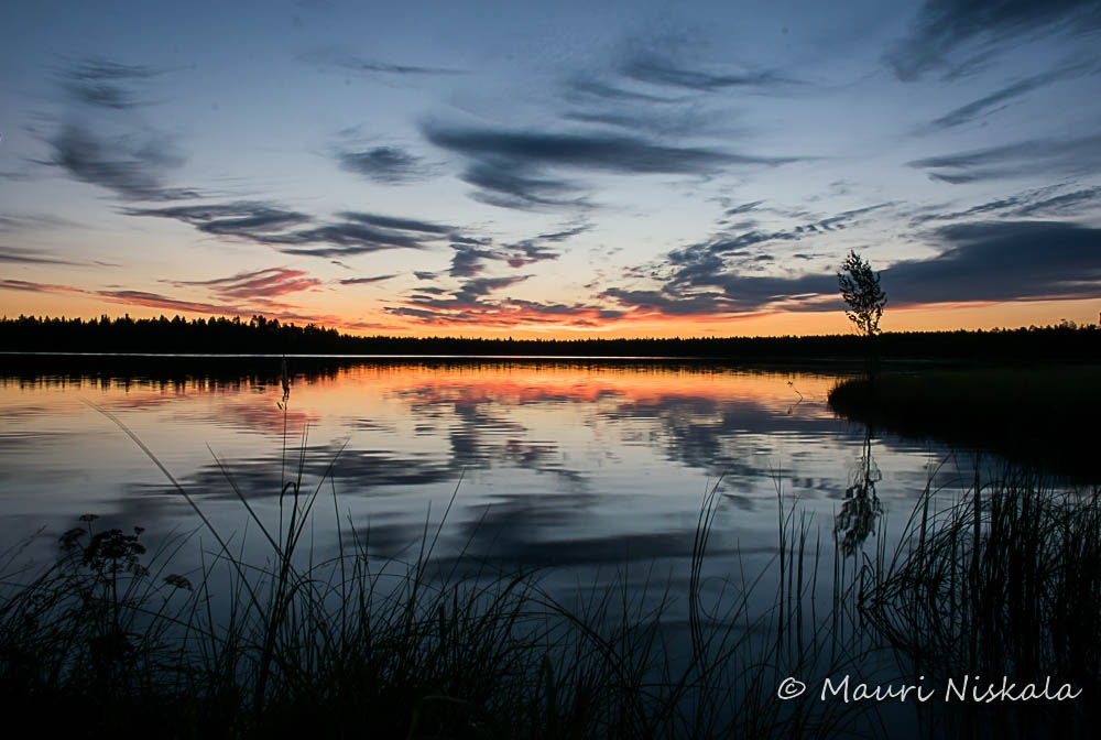 Before sunrise...! by Mauri Niskala