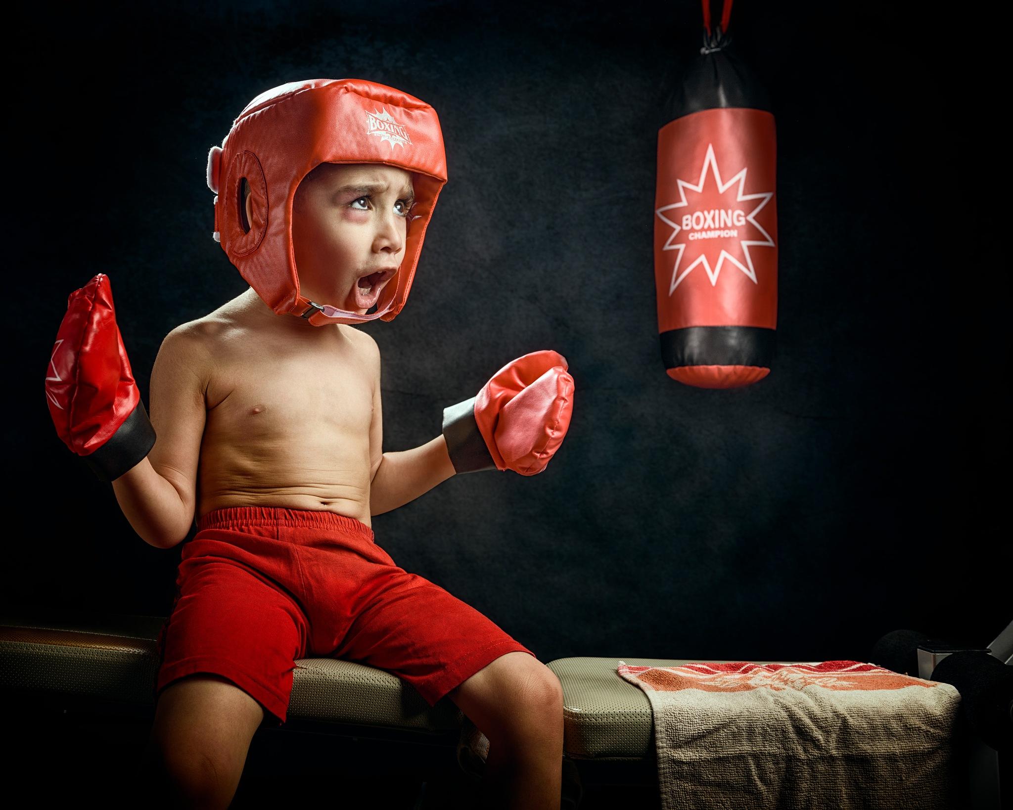 Little Boxer! by Saad Al Hamady