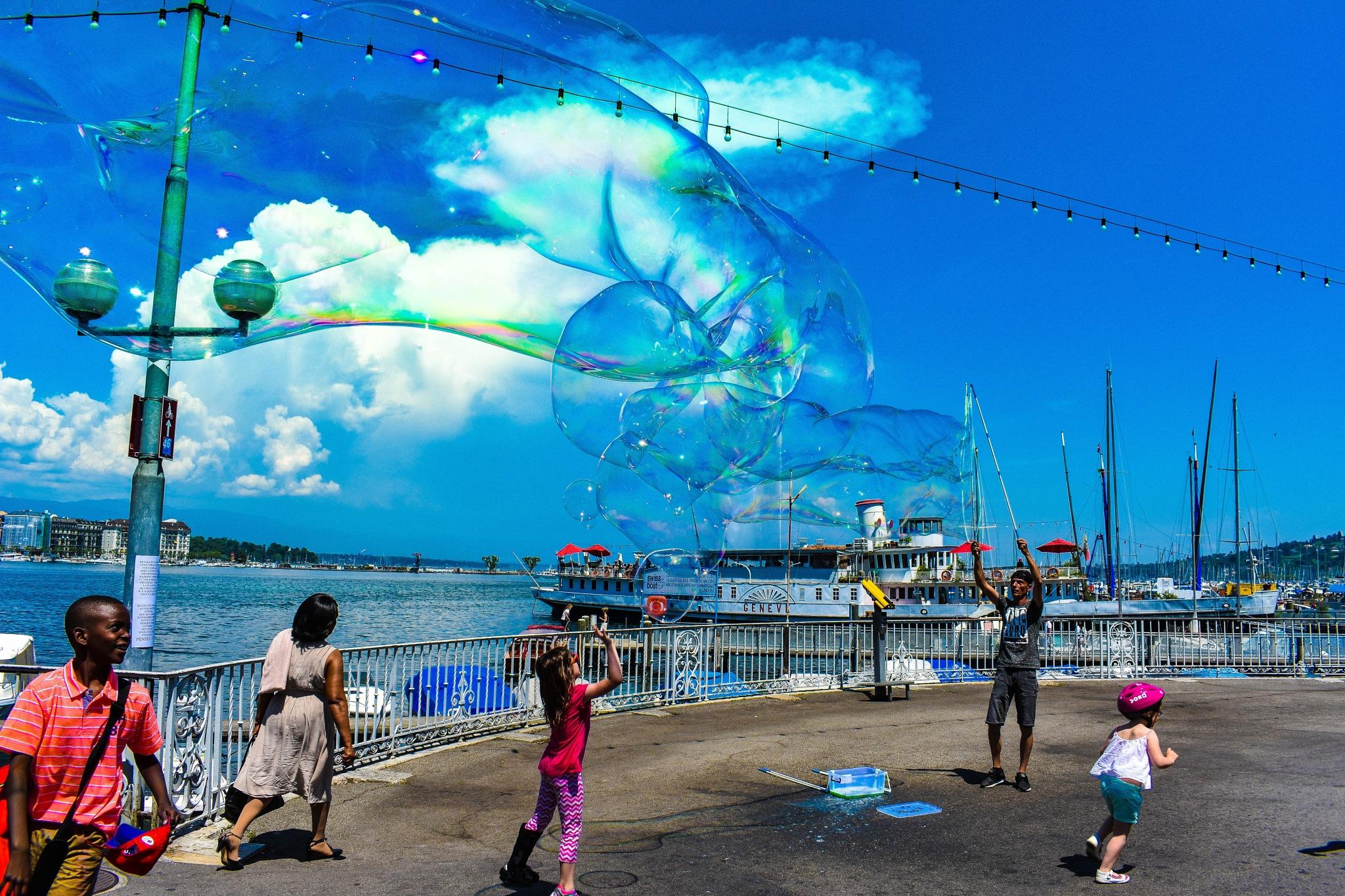 bubble by elecsabah