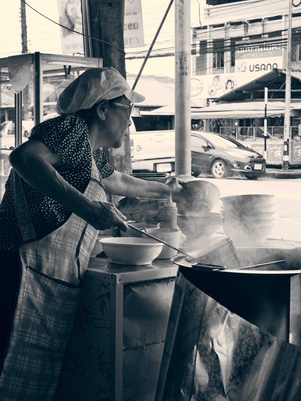 Superstar street food vendor again by TonyG