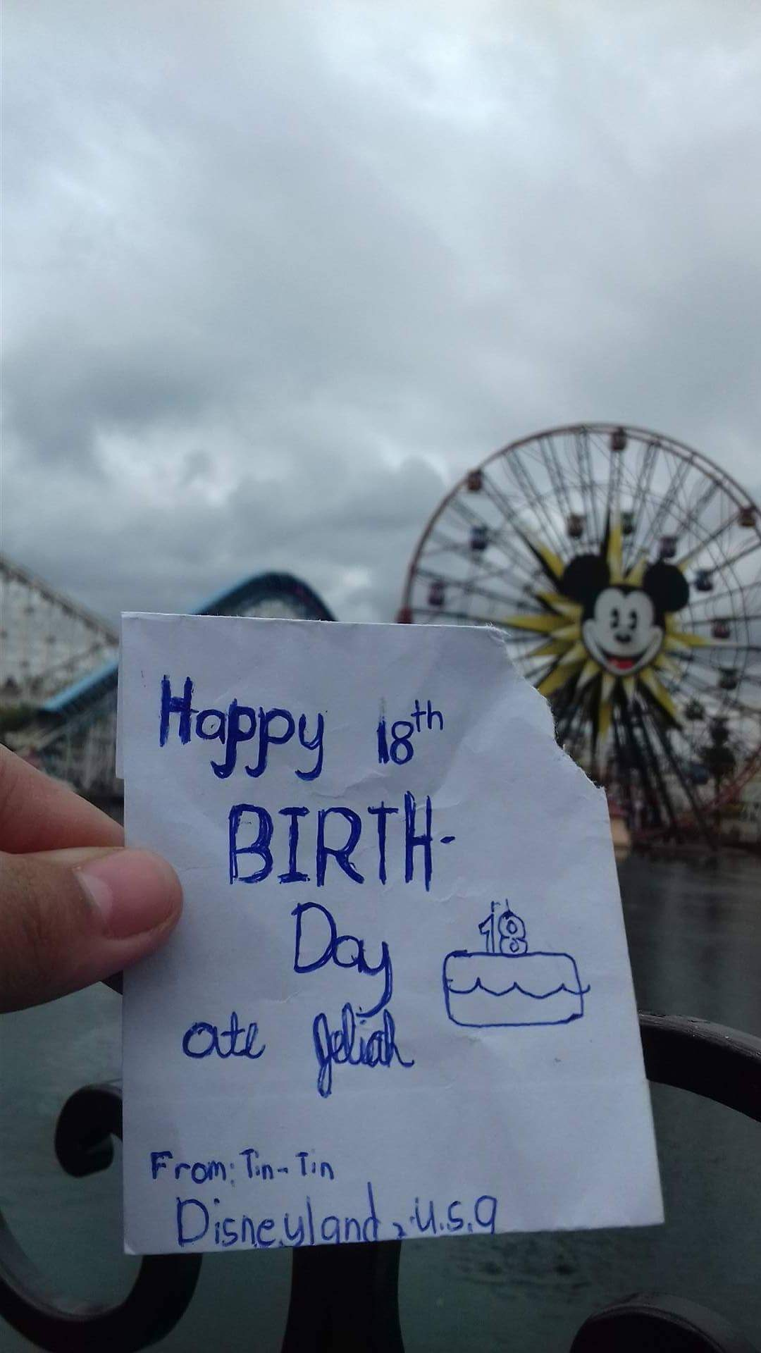Disneyland USA  by Jemima Mae Suzon