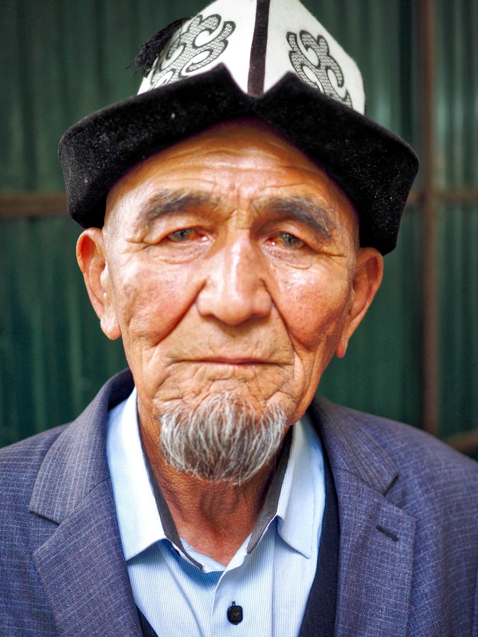 Kyrgyz man by Dietrik Vr