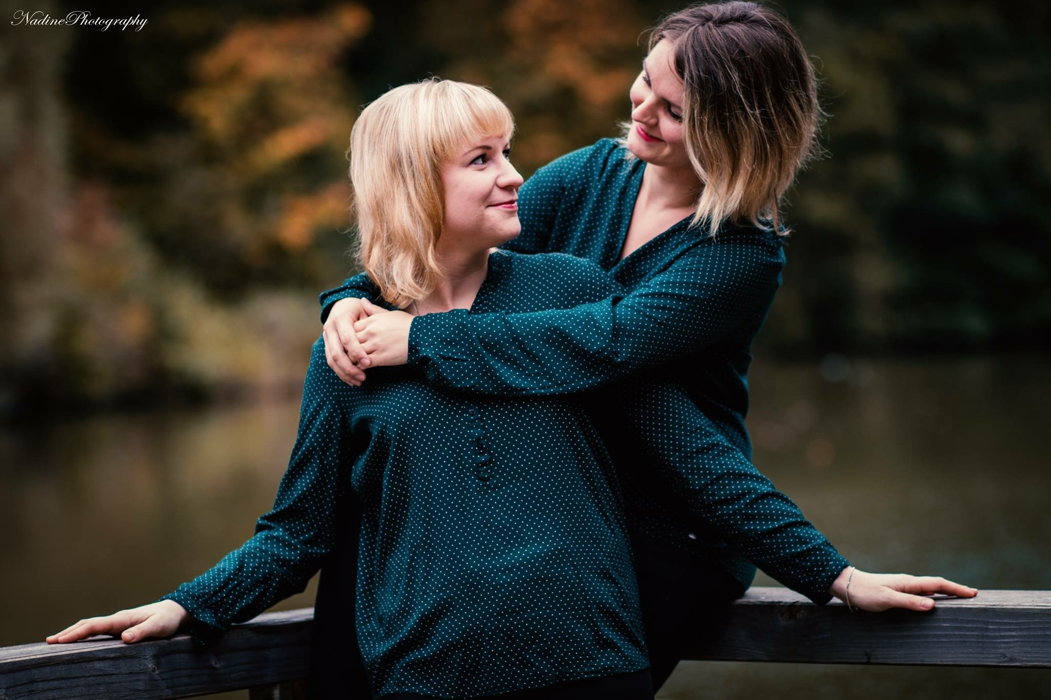 Beste Freundinnen Shooting Anja&Caro by Nadine