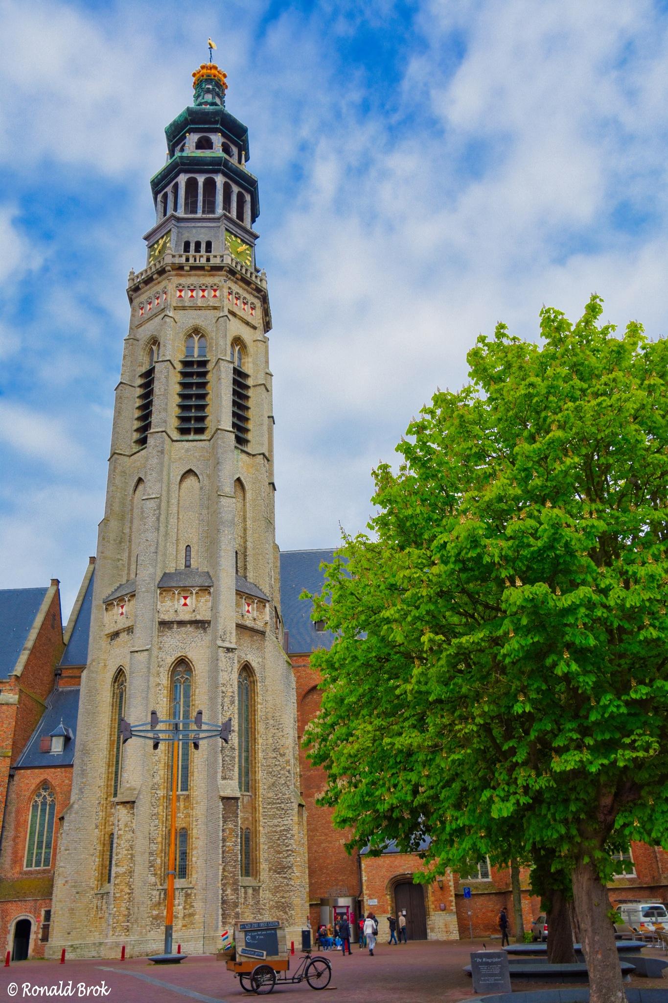 'Lange Jan' in Middelburg, the Netherlands by RonaldBrok