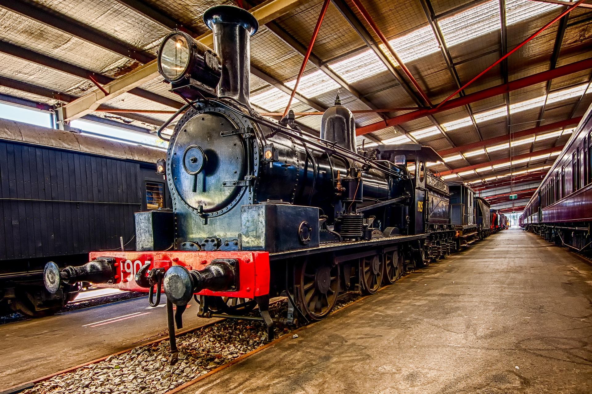 Steam Locomotive by David Kemp