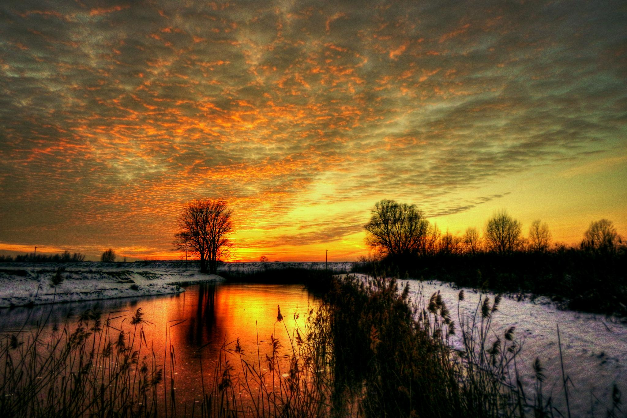 burning clouds by Nenad Milic