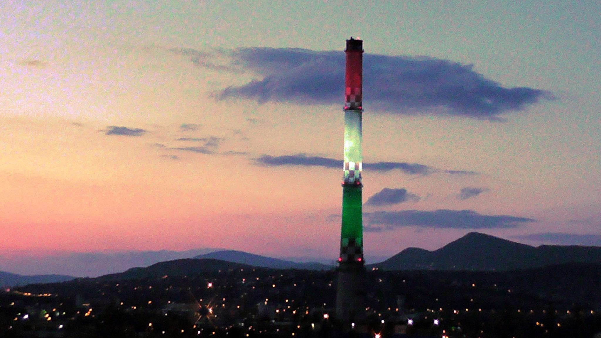 Óbuda / festive illumination by evakalocsay